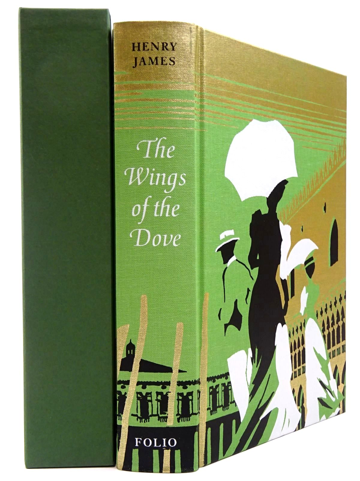 Photo of THE WINGS OF THE DOVE written by James, Henry illustrated by Bannister, Philip published by Folio Society (STOCK CODE: 2129825)  for sale by Stella & Rose's Books