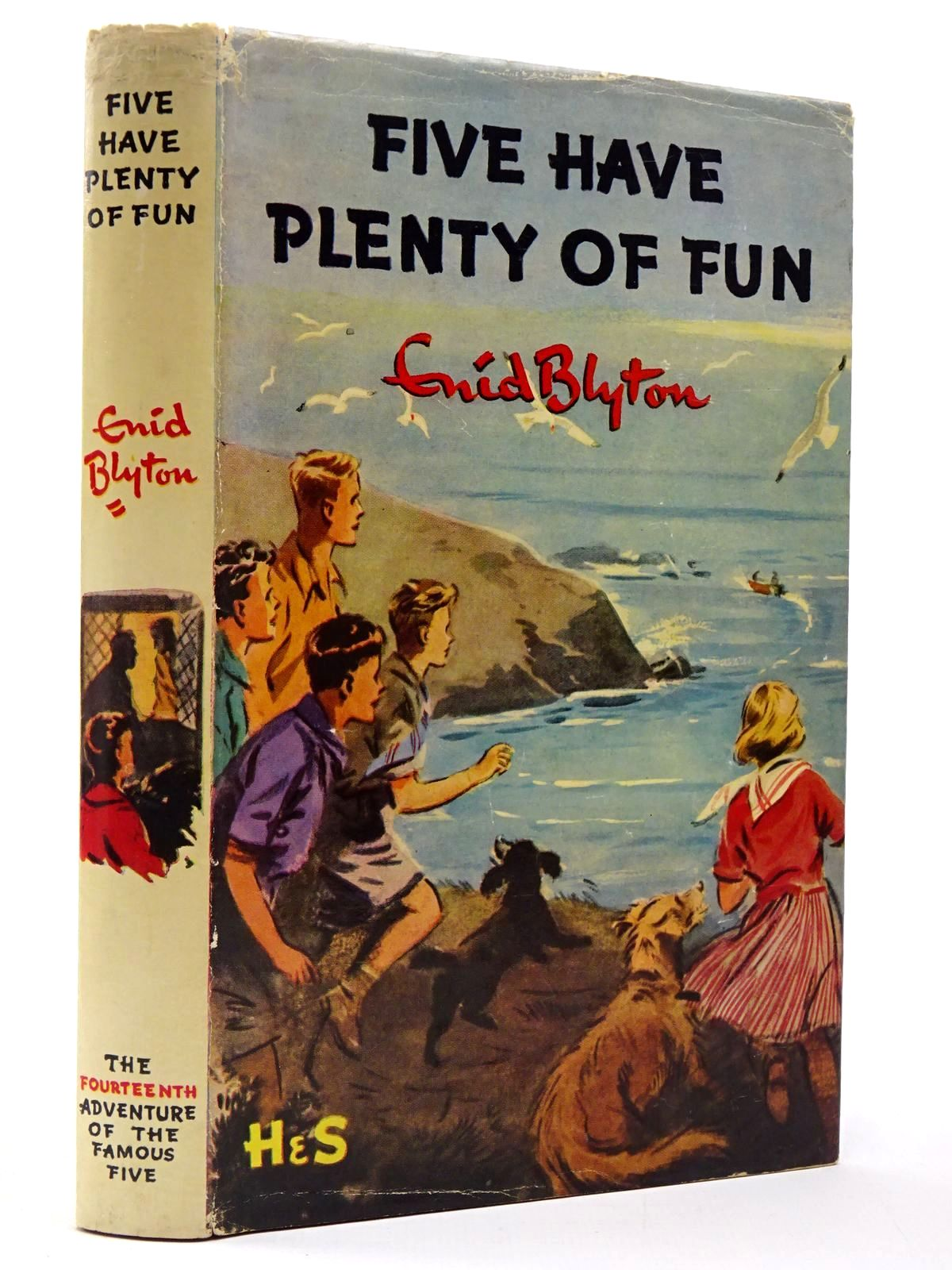 Photo of FIVE HAVE PLENTY OF FUN written by Blyton, Enid illustrated by Soper, Eileen published by Hodder & Stoughton (STOCK CODE: 2129882)  for sale by Stella & Rose's Books