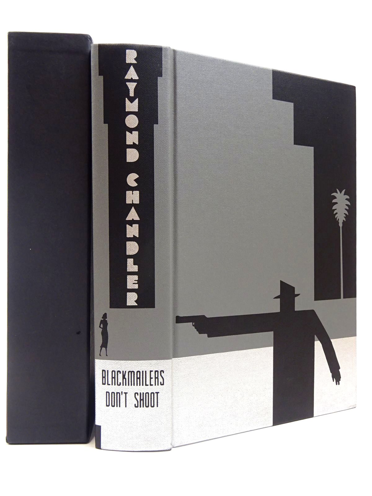 Photo of BLACKMAILERS DON'T SHOOT AND OTHER STORIES written by Chandler, Raymond illustrated by Grandfield, Geoff published by Folio Society (STOCK CODE: 2129915)  for sale by Stella & Rose's Books