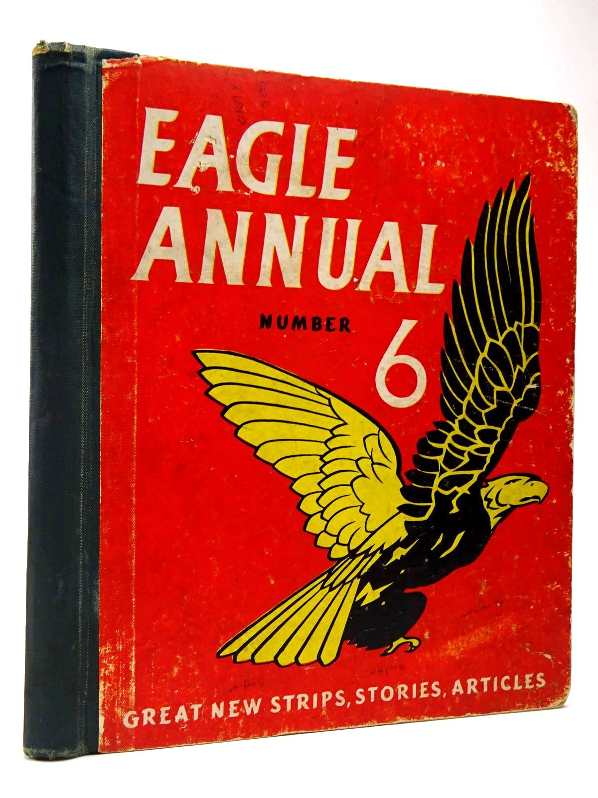 Photo of EAGLE ANNUAL No. 6 written by Morris, Marcus published by Hulton Press (STOCK CODE: 2129941)  for sale by Stella & Rose's Books