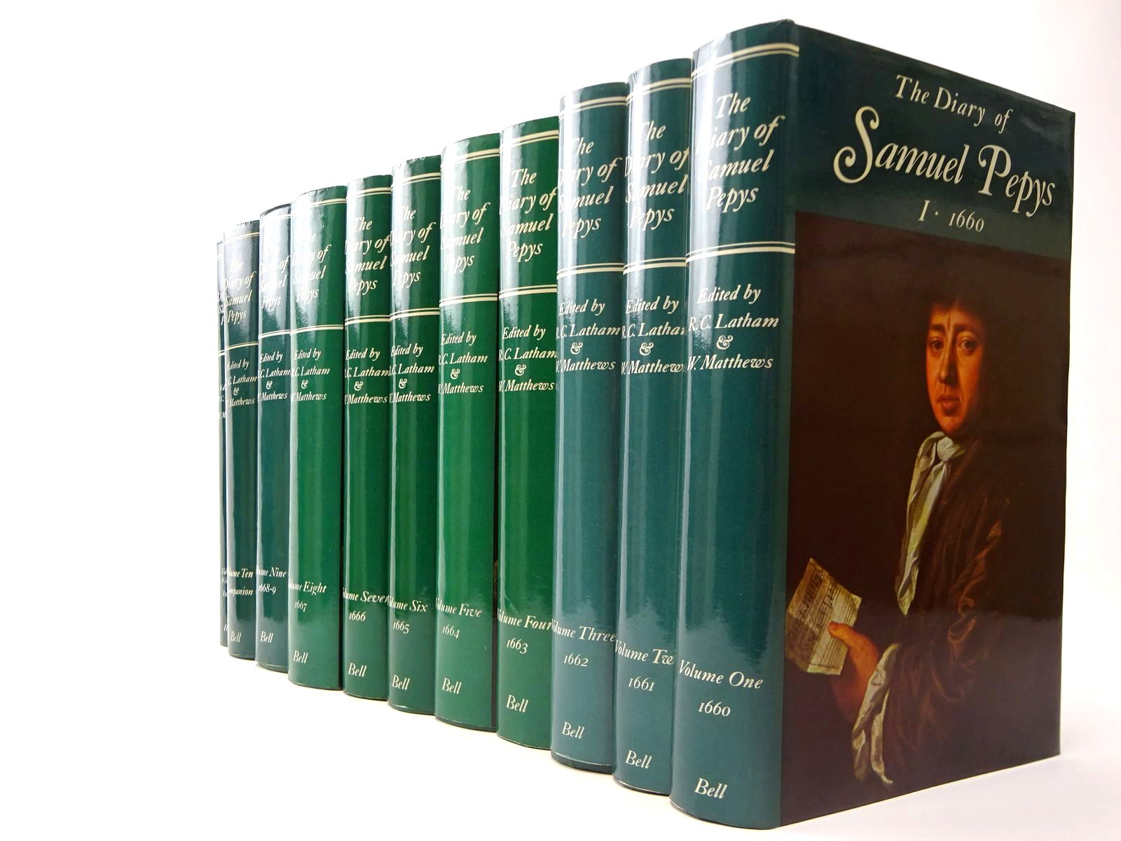 Photo of THE DIARY OF SAMUEL PEPYS (11 VOLS)