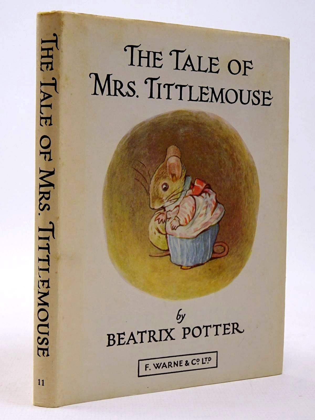 Photo of THE TALE OF MRS. TITTLEMOUSE written by Potter, Beatrix illustrated by Potter, Beatrix published by Frederick Warne & Co Ltd. (STOCK CODE: 2129987)  for sale by Stella & Rose's Books