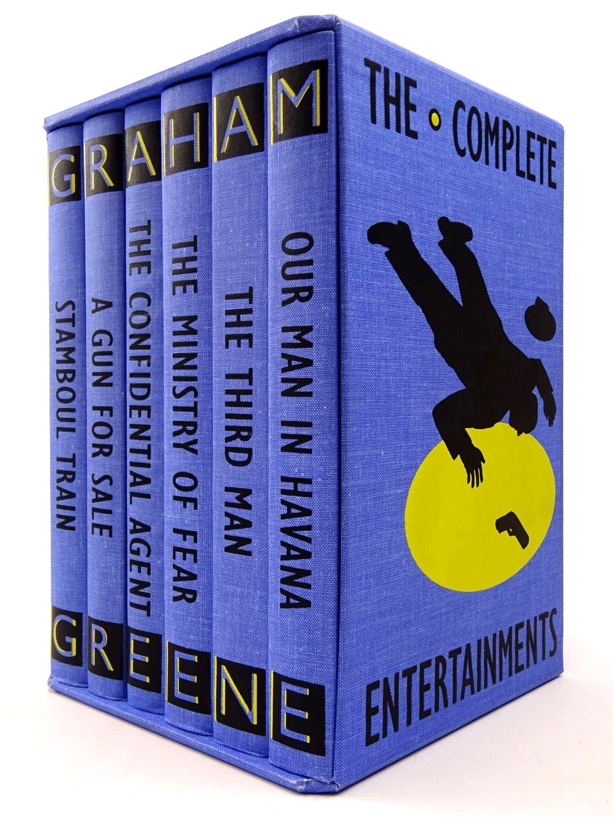 Photo of THE COMPLETE ENTERTAINMENTS (6 VOLUMES) written by Greene, Graham illustrated by Grandfield, Geoff published by Folio Society (STOCK CODE: 2130008)  for sale by Stella & Rose's Books