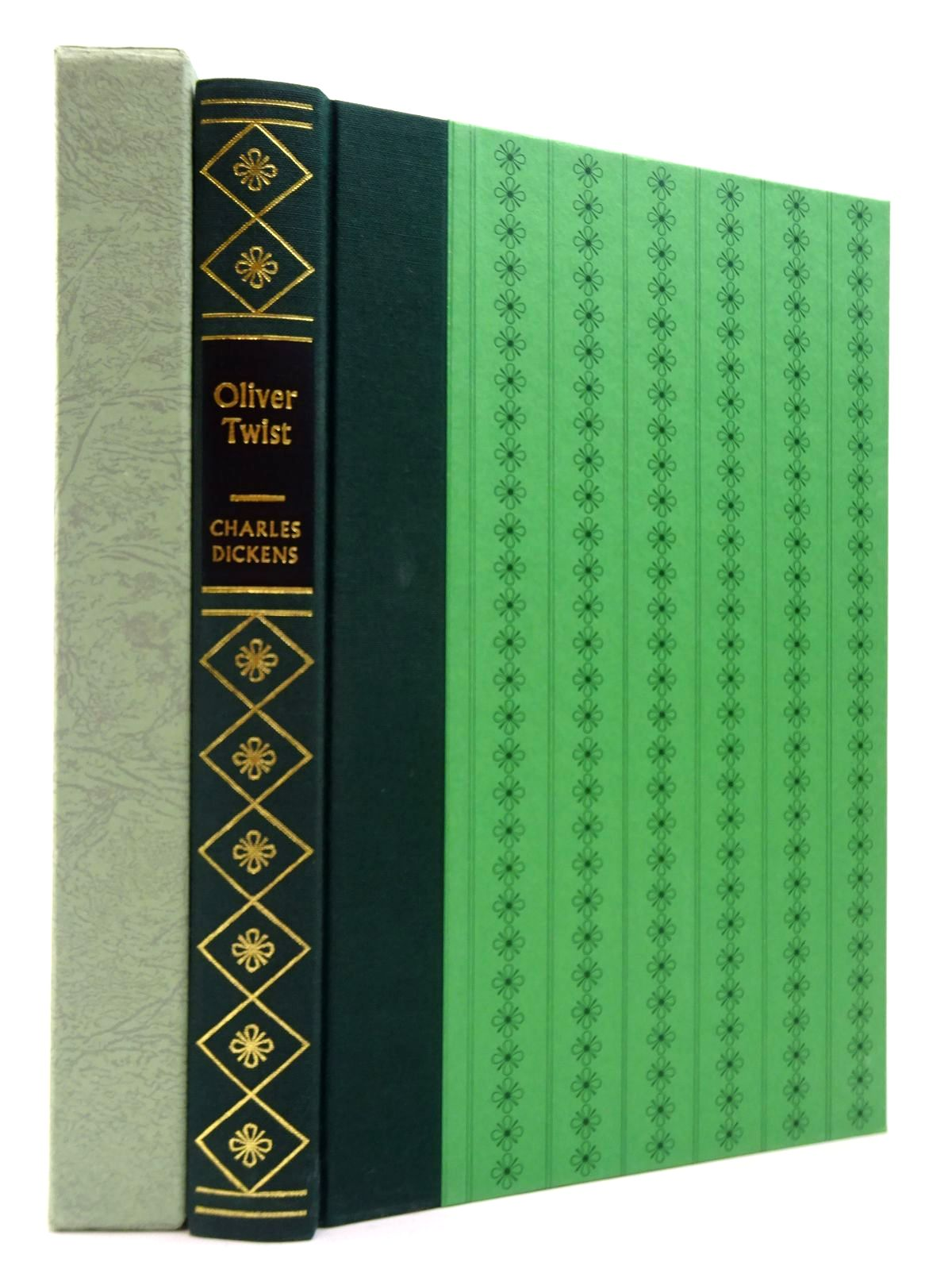Photo of THE ADVENTURES OF OLIVER TWIST written by Dickens, Charles illustrated by Keeping, Charles published by Folio Society (STOCK CODE: 2130024)  for sale by Stella & Rose's Books