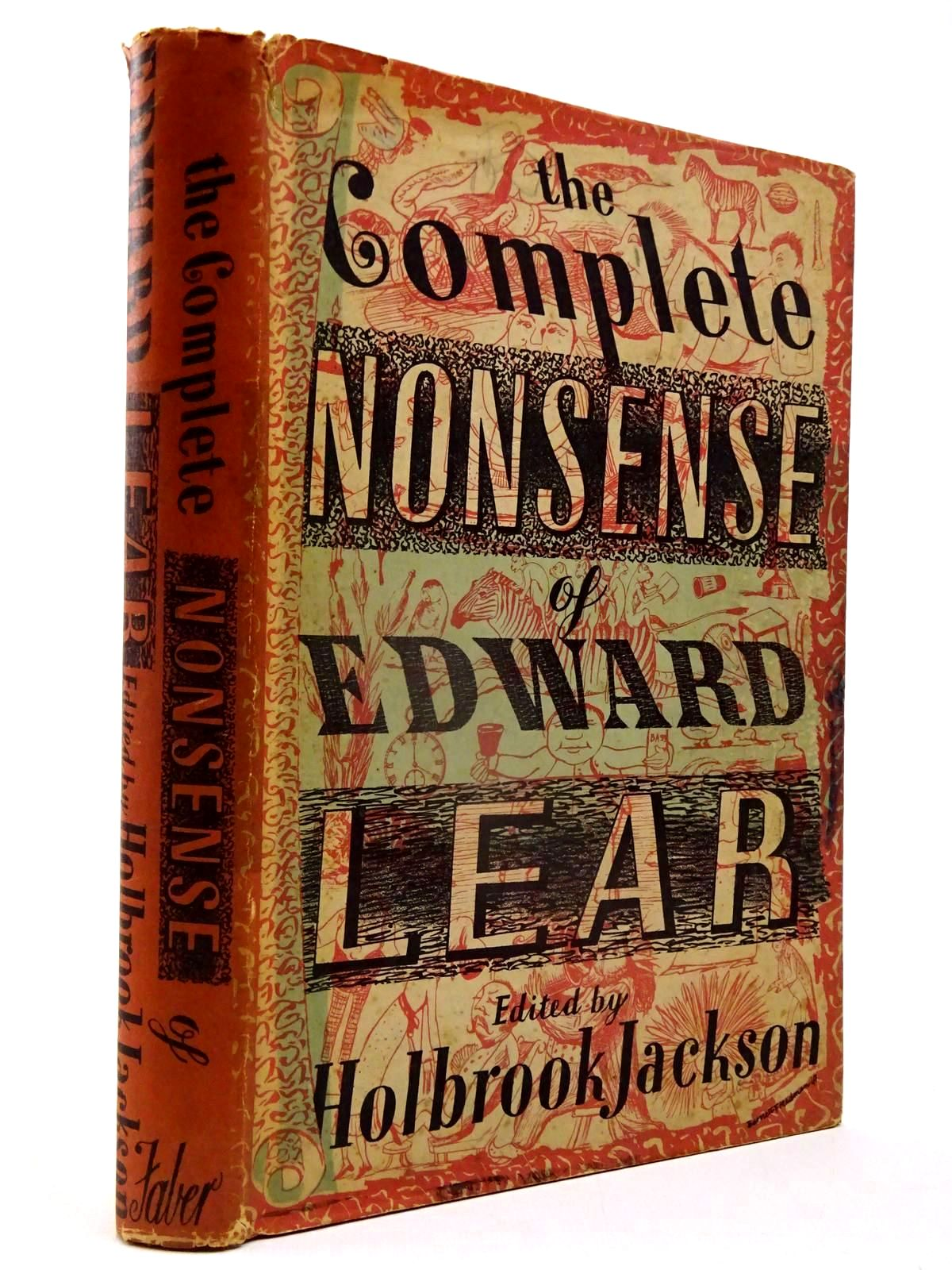 Photo of THE COMPLETE NONSENSE OF EDWARD LEAR written by Lear, Edward<br />Jackson, Holbrook illustrated by Lear, Edward published by Faber & Faber (STOCK CODE: 2130122)  for sale by Stella & Rose's Books