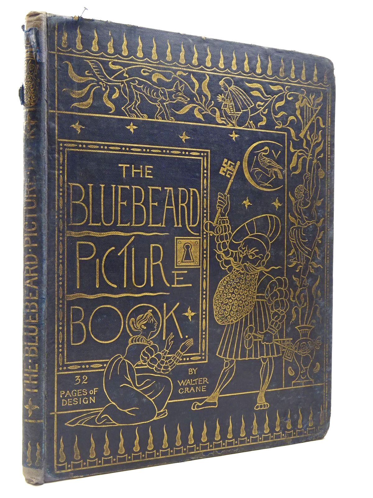 Photo of THE BLUE BEARD PICTURE BOOK illustrated by Crane, Walter published by George Routledge & Sons (STOCK CODE: 2130165)  for sale by Stella & Rose's Books