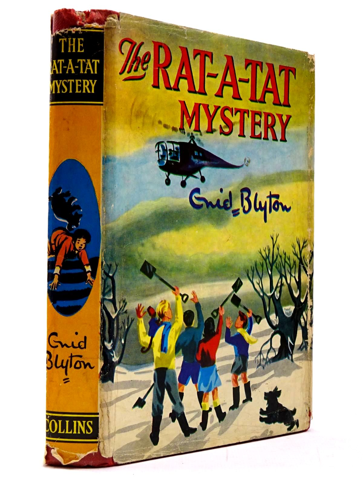 Photo of THE RAT-A-TAT MYSTERY written by Blyton, Enid illustrated by Cook, Anyon published by Collins (STOCK CODE: 2130196)  for sale by Stella & Rose's Books