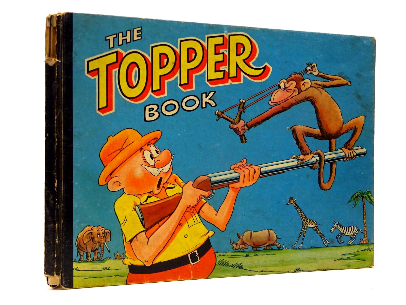 Photo of THE TOPPER BOOK 1959 published by D.C. Thomson & Co Ltd., John Leng (STOCK CODE: 2130219)  for sale by Stella & Rose's Books