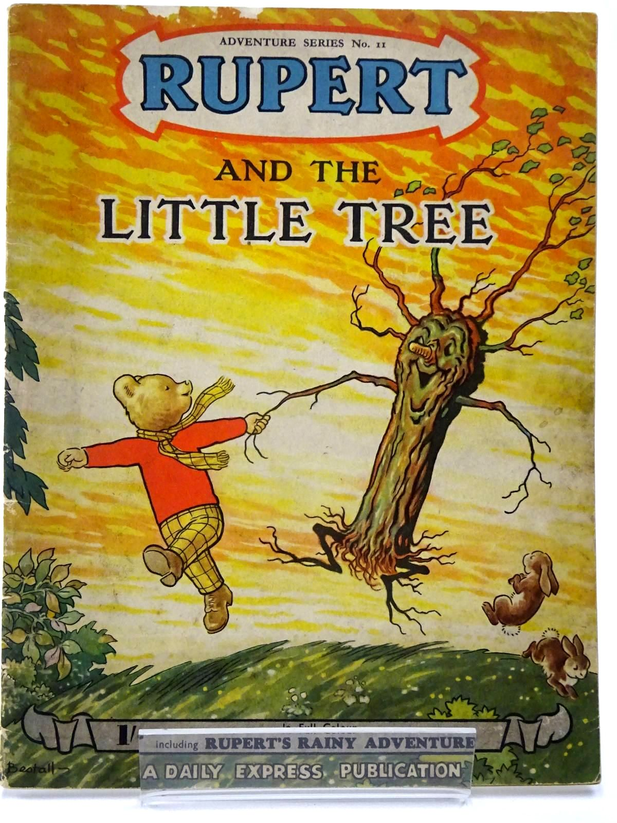 Photo of RUPERT ADVENTURE SERIES No. 11 - RUPERT AND THE LITTLE TREE written by Bestall, Alfred illustrated by Bestall, Alfred published by Daily Express (STOCK CODE: 2130227)  for sale by Stella & Rose's Books