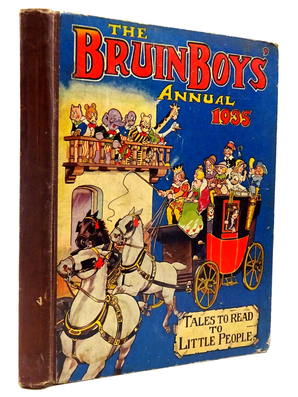 Photo of THE BRUIN BOYS' ANNUAL 1935 published by The Amalgamated Press (STOCK CODE: 2130256)  for sale by Stella & Rose's Books