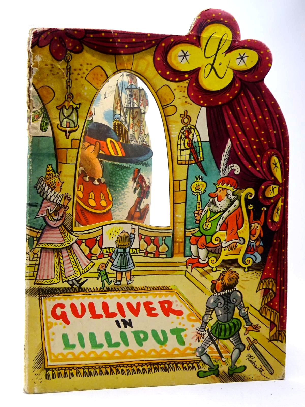 Photo of GULLIVER IN LILLIPUT illustrated by Kubasta, Vojtech published by Bancroft & Co.(Publishers) Ltd. (STOCK CODE: 2130265)  for sale by Stella & Rose's Books