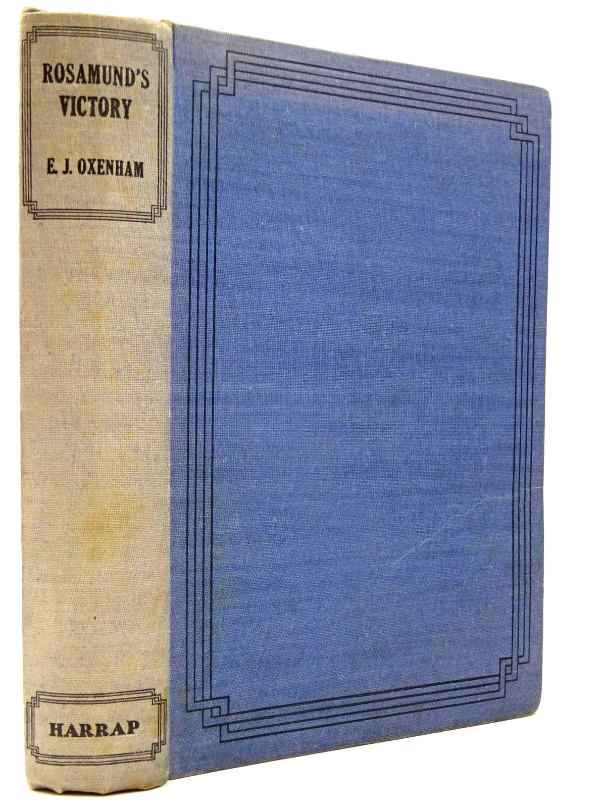 Photo of ROSAMUND'S VICTORY written by Oxenham, Elsie J. published by George G. Harrap & Co. Ltd. (STOCK CODE: 2130274)  for sale by Stella & Rose's Books