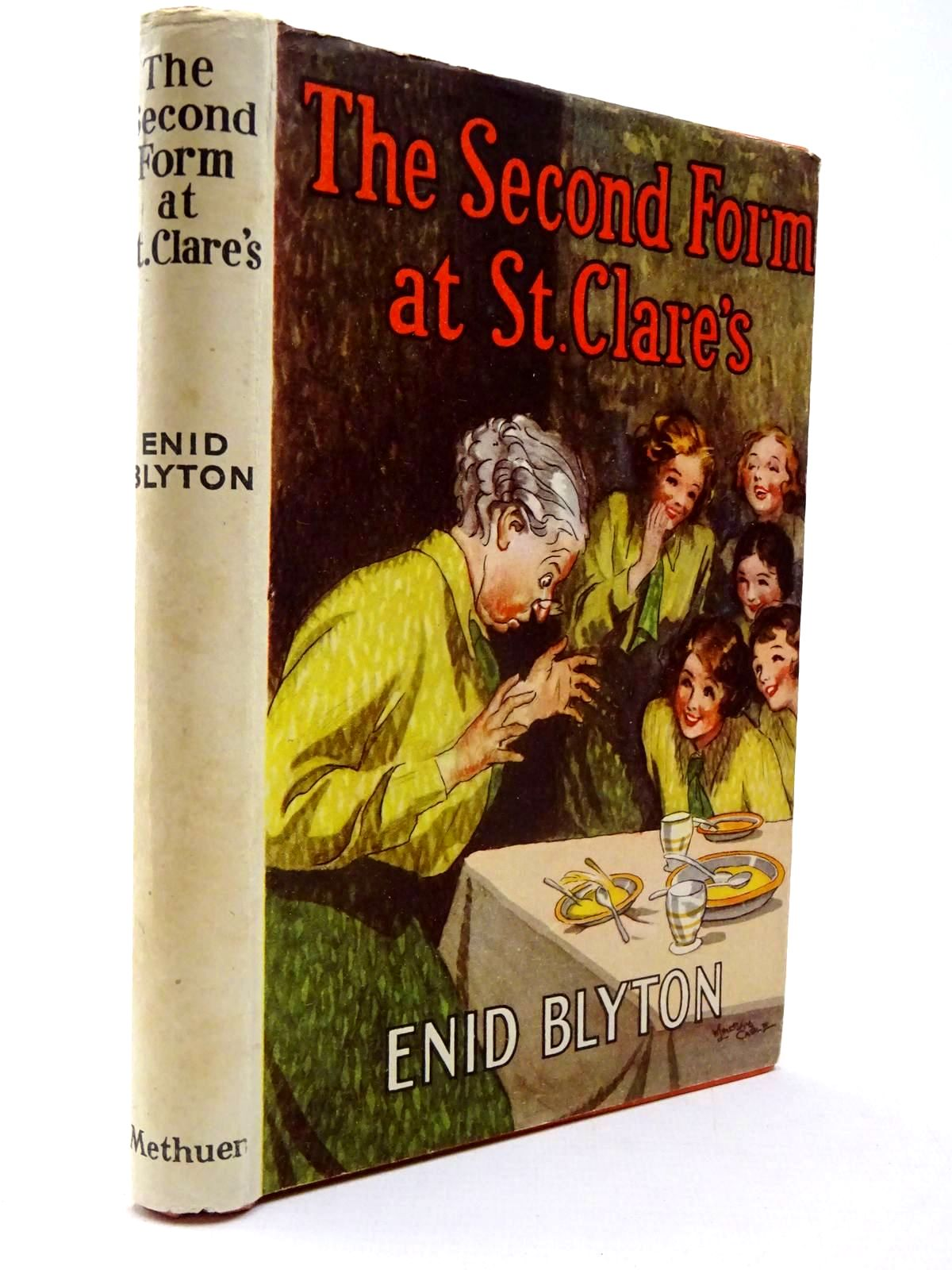 Photo of THE SECOND FORM AT ST. CLARE'S written by Blyton, Enid illustrated by Cable, W. Lindsay published by Methuen & Co. Ltd. (STOCK CODE: 2130285)  for sale by Stella & Rose's Books