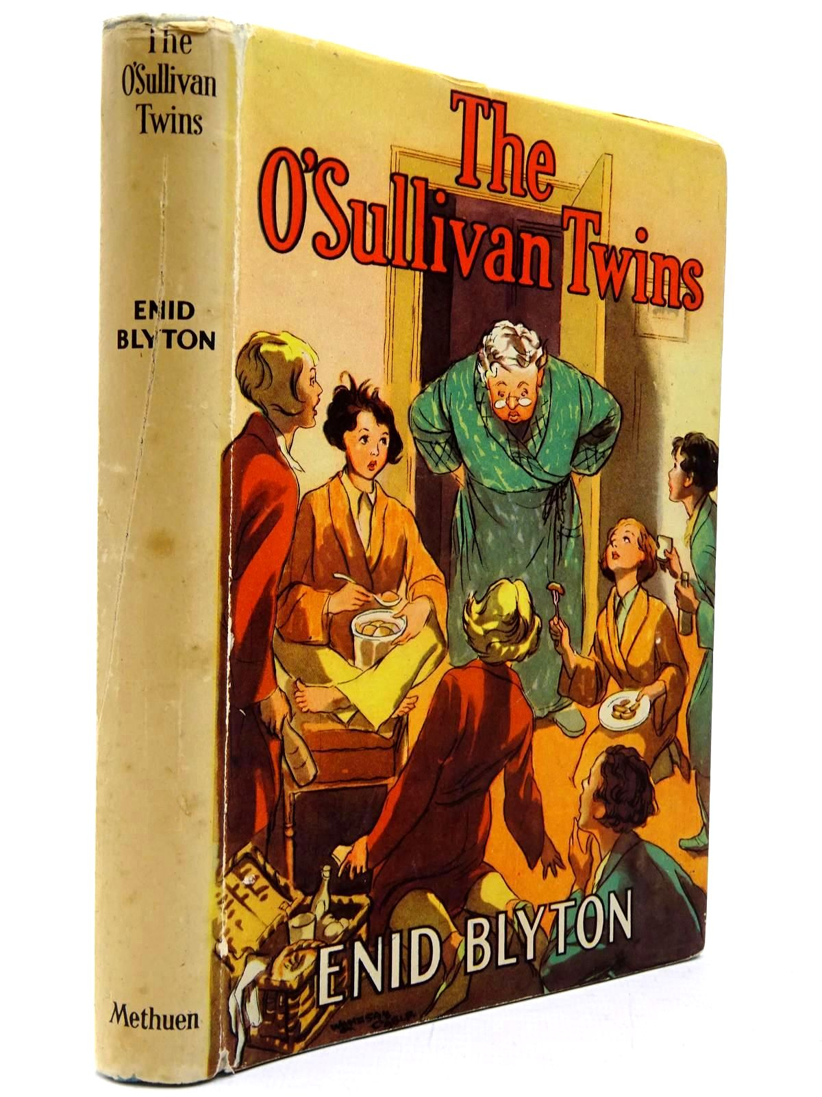 Photo of THE O'SULLIVAN TWINS written by Blyton, Enid illustrated by Cable, W. Lindsay published by Methuen & Co. Ltd. (STOCK CODE: 2130286)  for sale by Stella & Rose's Books