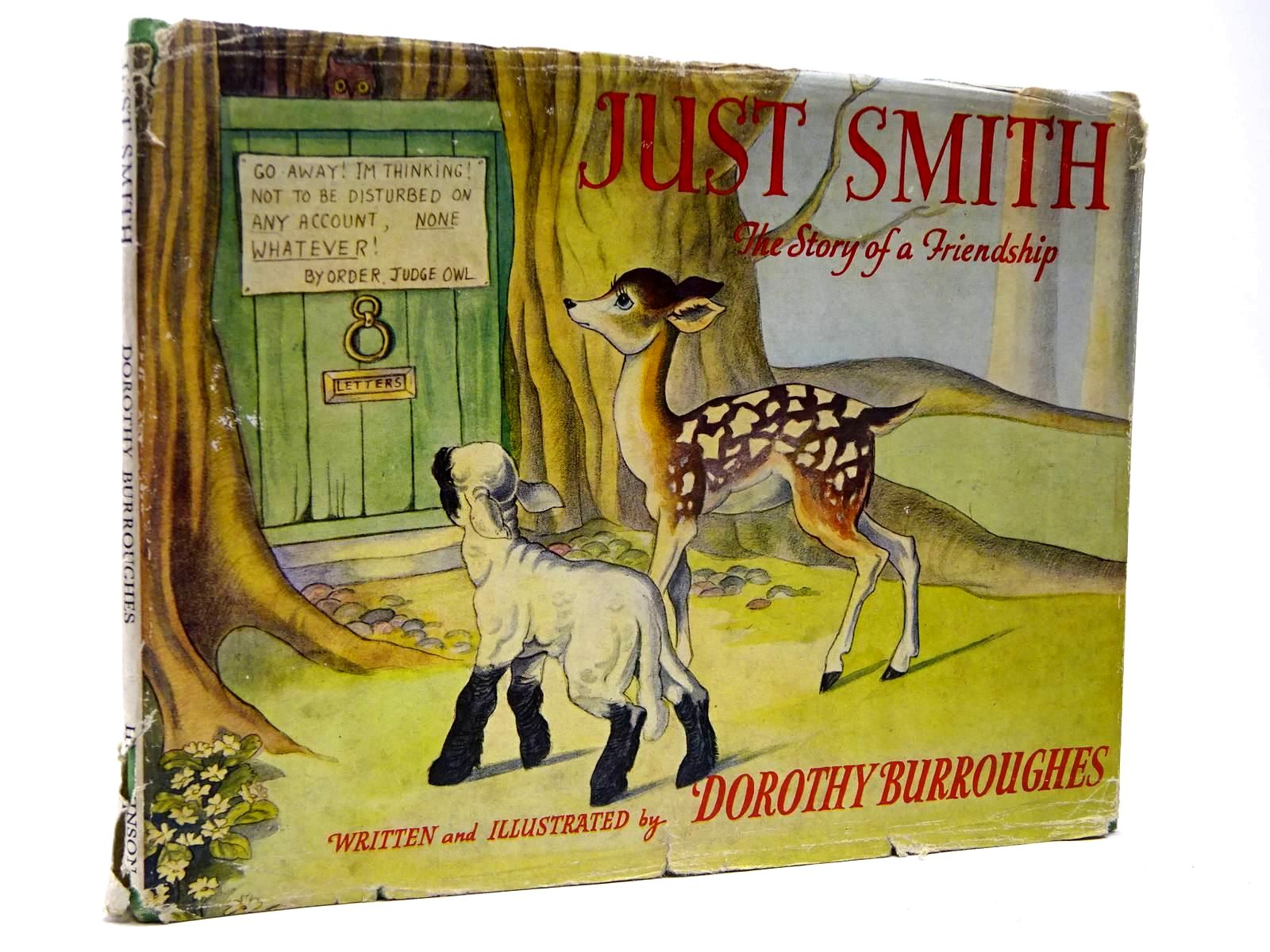 Photo of JUST SMITH written by Burroughes, Dorothy illustrated by Burroughes, Dorothy published by Hutchinson & Co. Ltd (STOCK CODE: 2130299)  for sale by Stella & Rose's Books