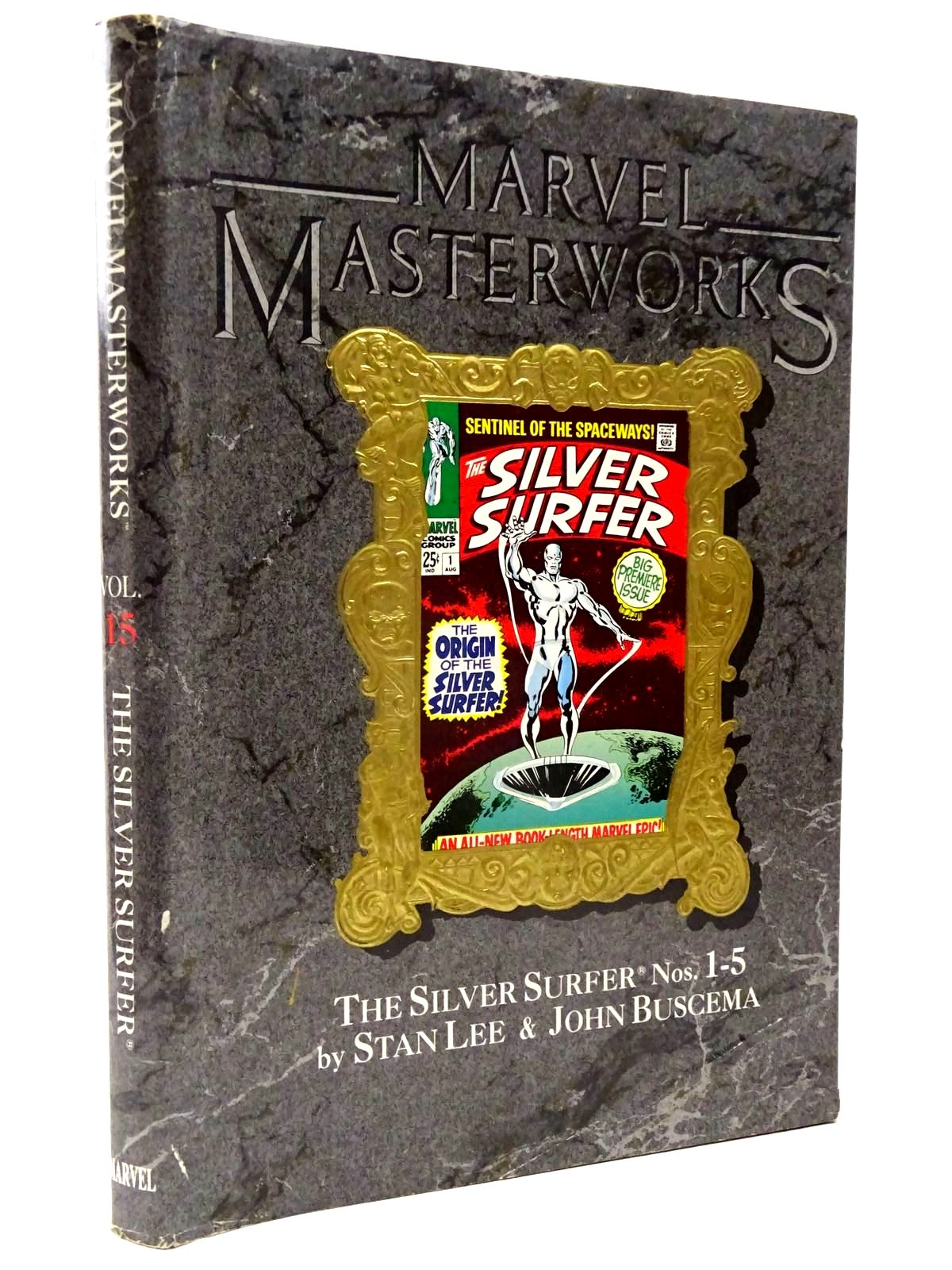 Photo of MARVEL MASTERWORKS VOLUME 15 - THE SILVER SURFER written by Lee, Stan<br />Buscema, John published by Marvel Comics Limited (STOCK CODE: 2130316)  for sale by Stella & Rose's Books