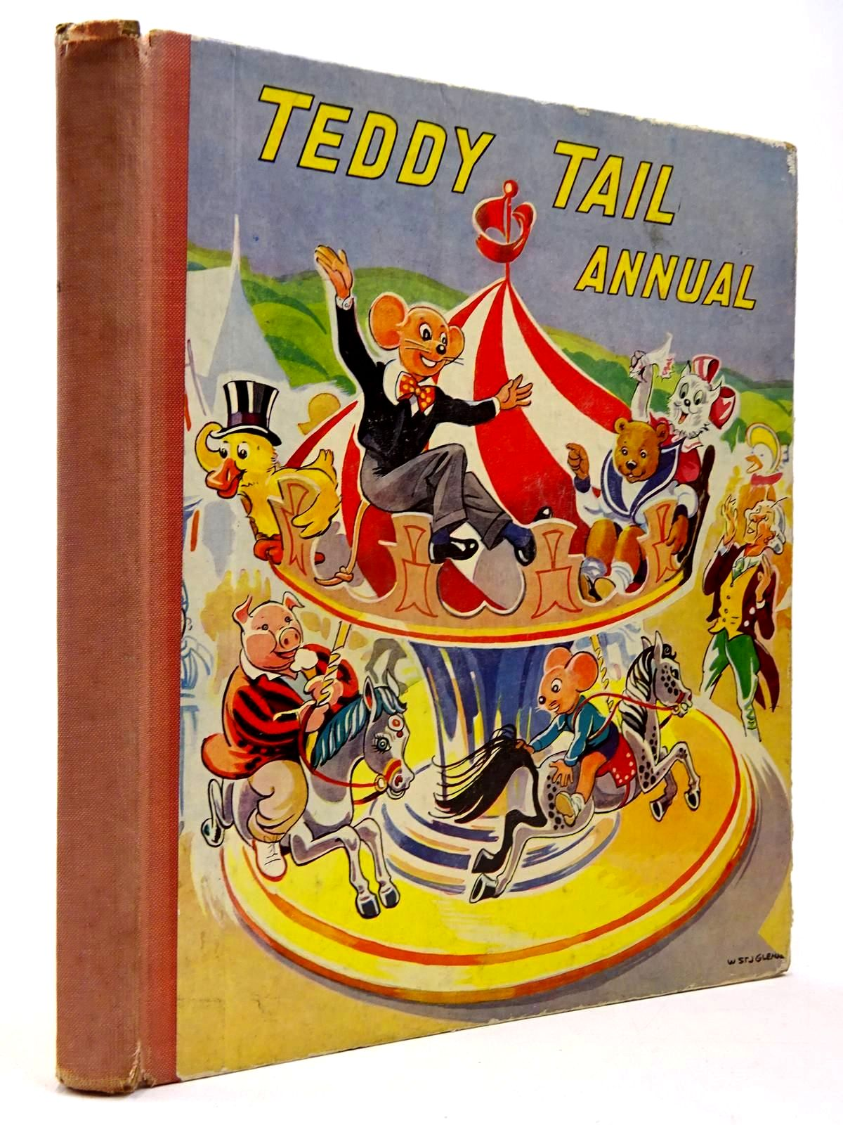 Photo of TEDDY TAIL ANNUAL published by Juvenile Productions Ltd. (STOCK CODE: 2130322)  for sale by Stella & Rose's Books
