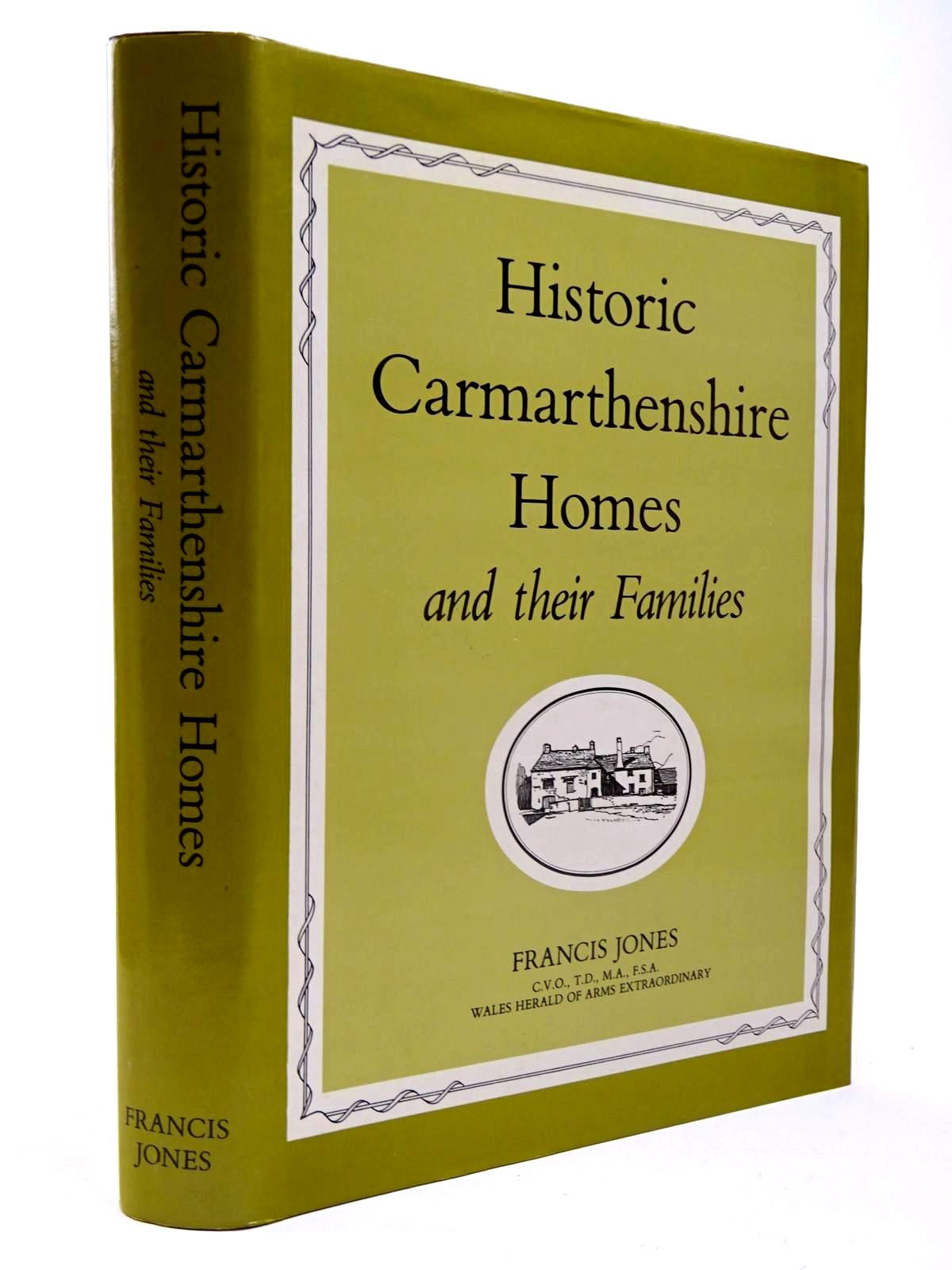Photo of HISTORIC CARMARTHENSHIRE HOMES AND THEIR FAMILIES written by Jones, Francis published by Carmarthenshire Antiquarian Society (STOCK CODE: 2130325)  for sale by Stella & Rose's Books