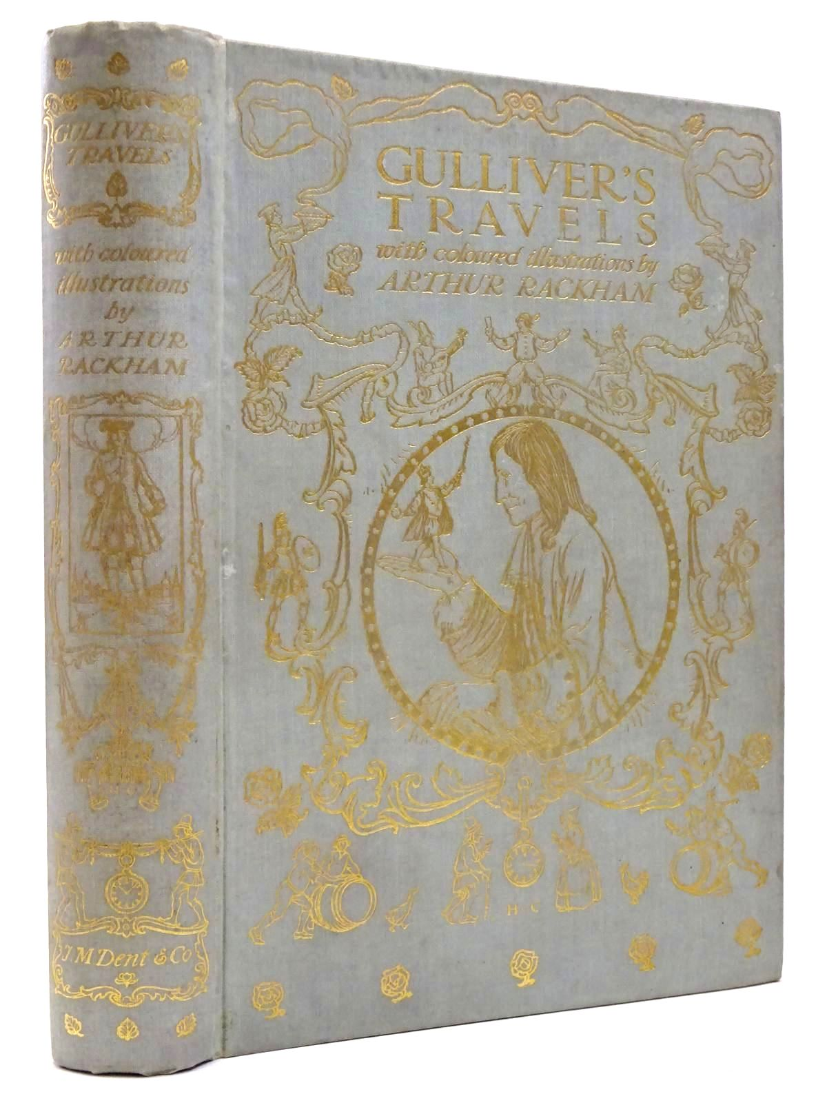 Photo of GULLIVER'S TRAVELS written by Swift, Jonathan illustrated by Rackham, Arthur published by J.M. Dent & Co. (STOCK CODE: 2130354)  for sale by Stella & Rose's Books