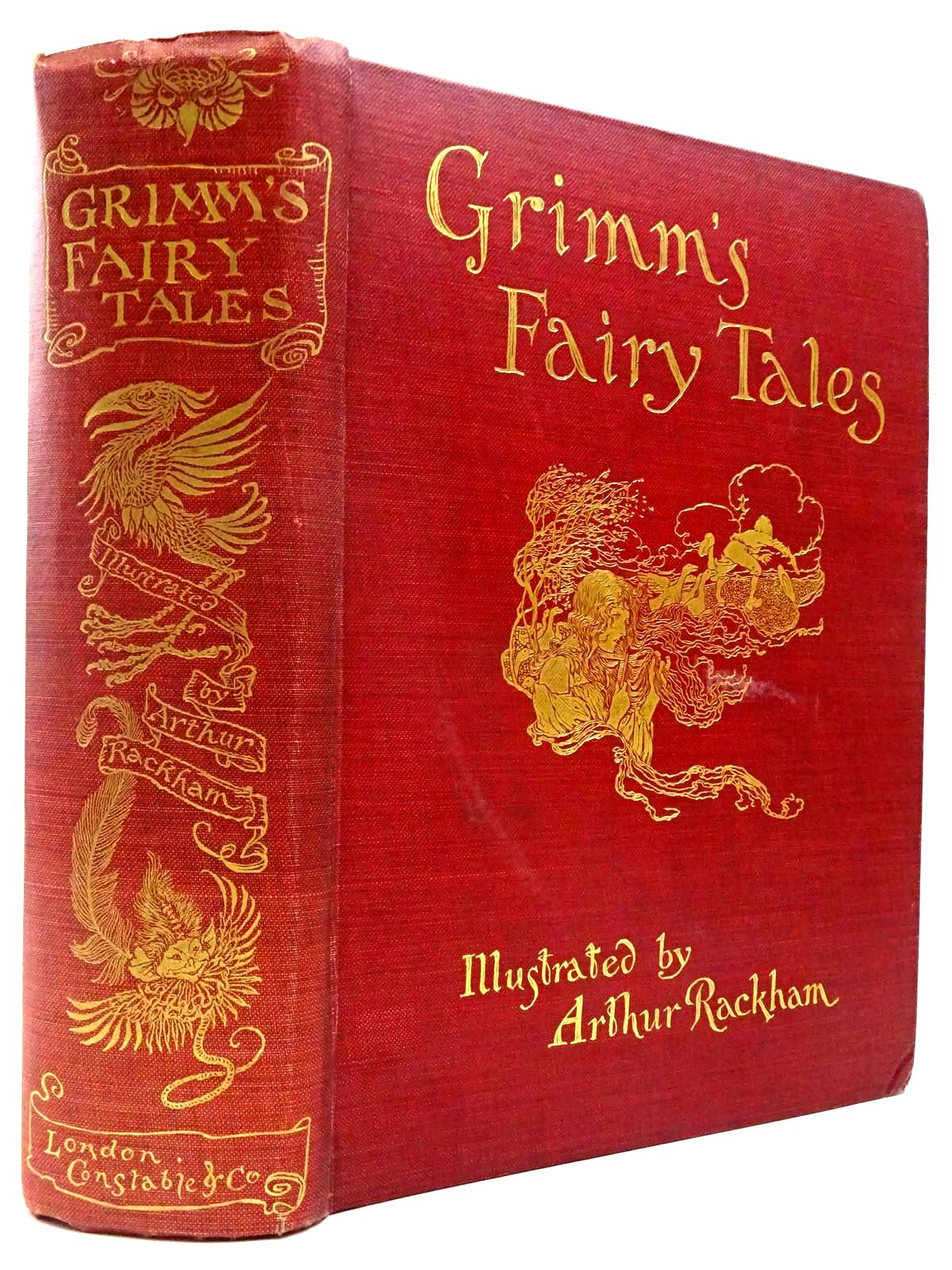 Photo of THE FAIRY TALES OF THE BROTHERS GRIMM written by Grimm, Brothers illustrated by Rackham, Arthur published by Constable and Company Ltd. (STOCK CODE: 2130355)  for sale by Stella & Rose's Books