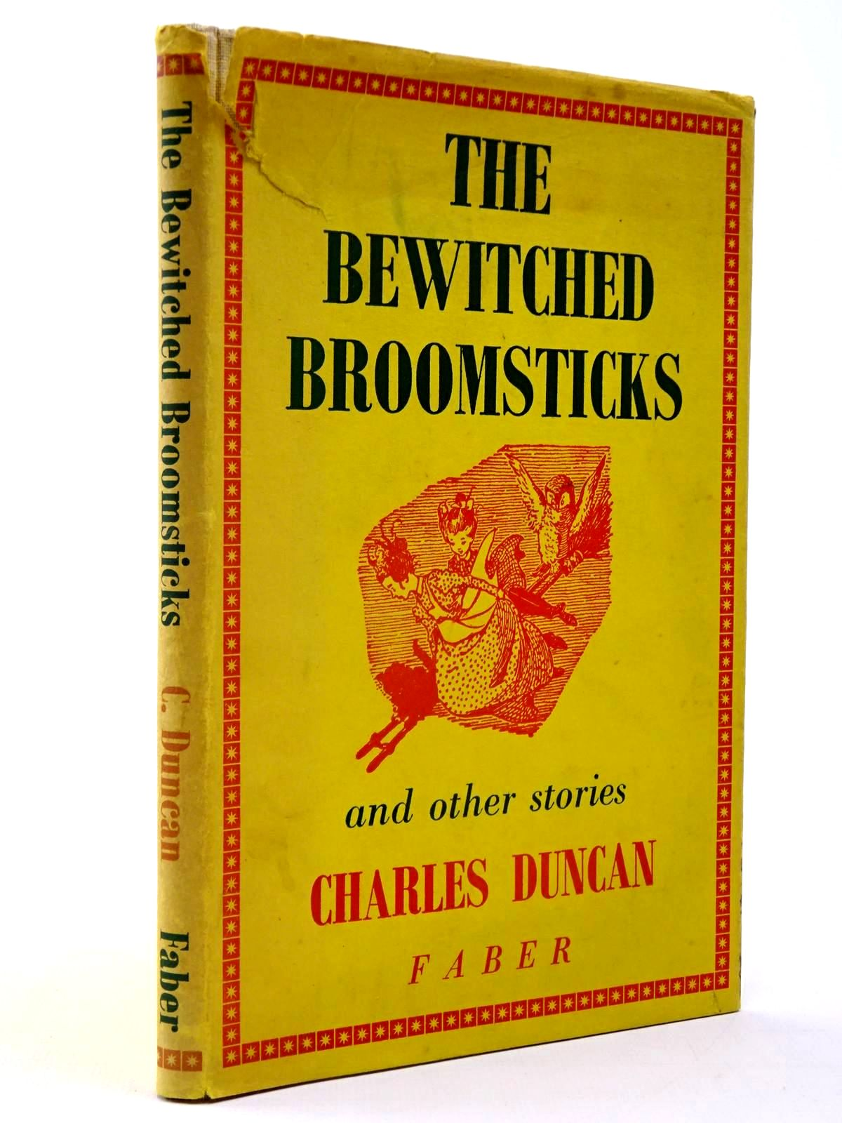 Photo of THE BEWITCHED BROOMSTICKS AND OTHER STORIES written by Duncan, Charles illustrated by Kennedy, A.E. published by Faber & Faber (STOCK CODE: 2130398)  for sale by Stella & Rose's Books