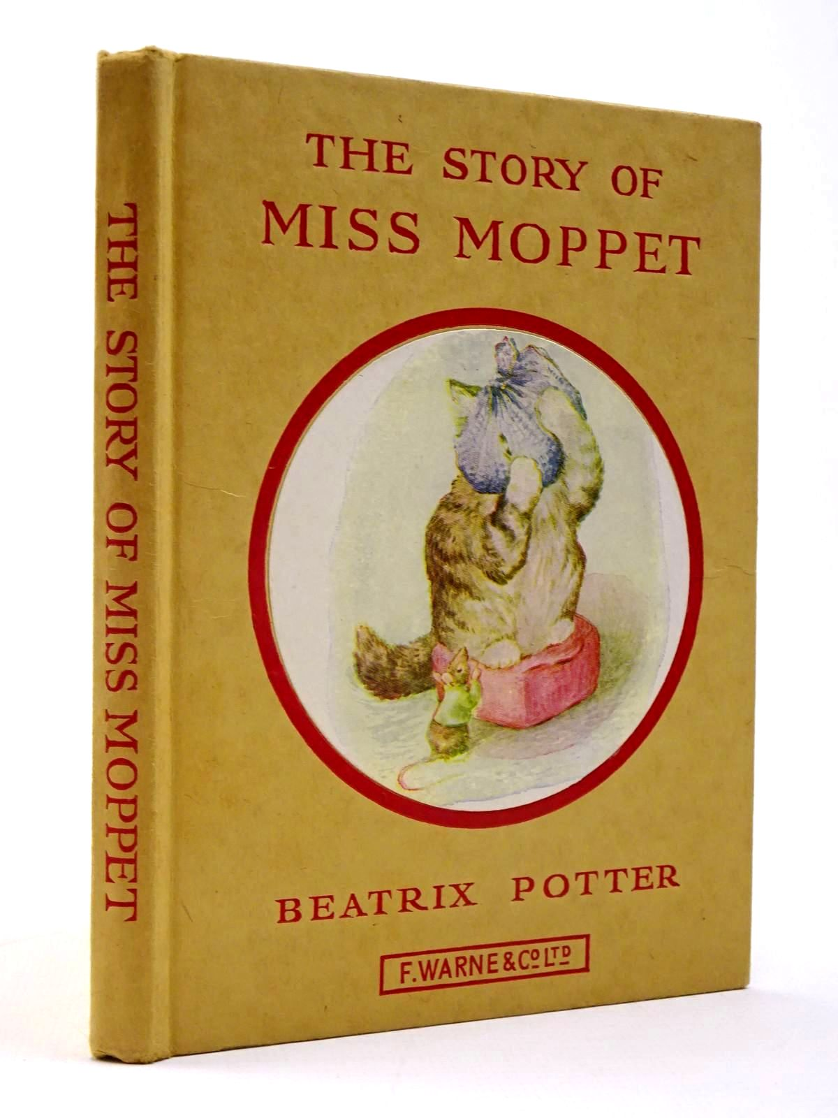 Photo of THE STORY OF MISS MOPPET written by Potter, Beatrix illustrated by Potter, Beatrix published by Frederick Warne & Co Ltd. (STOCK CODE: 2130405)  for sale by Stella & Rose's Books