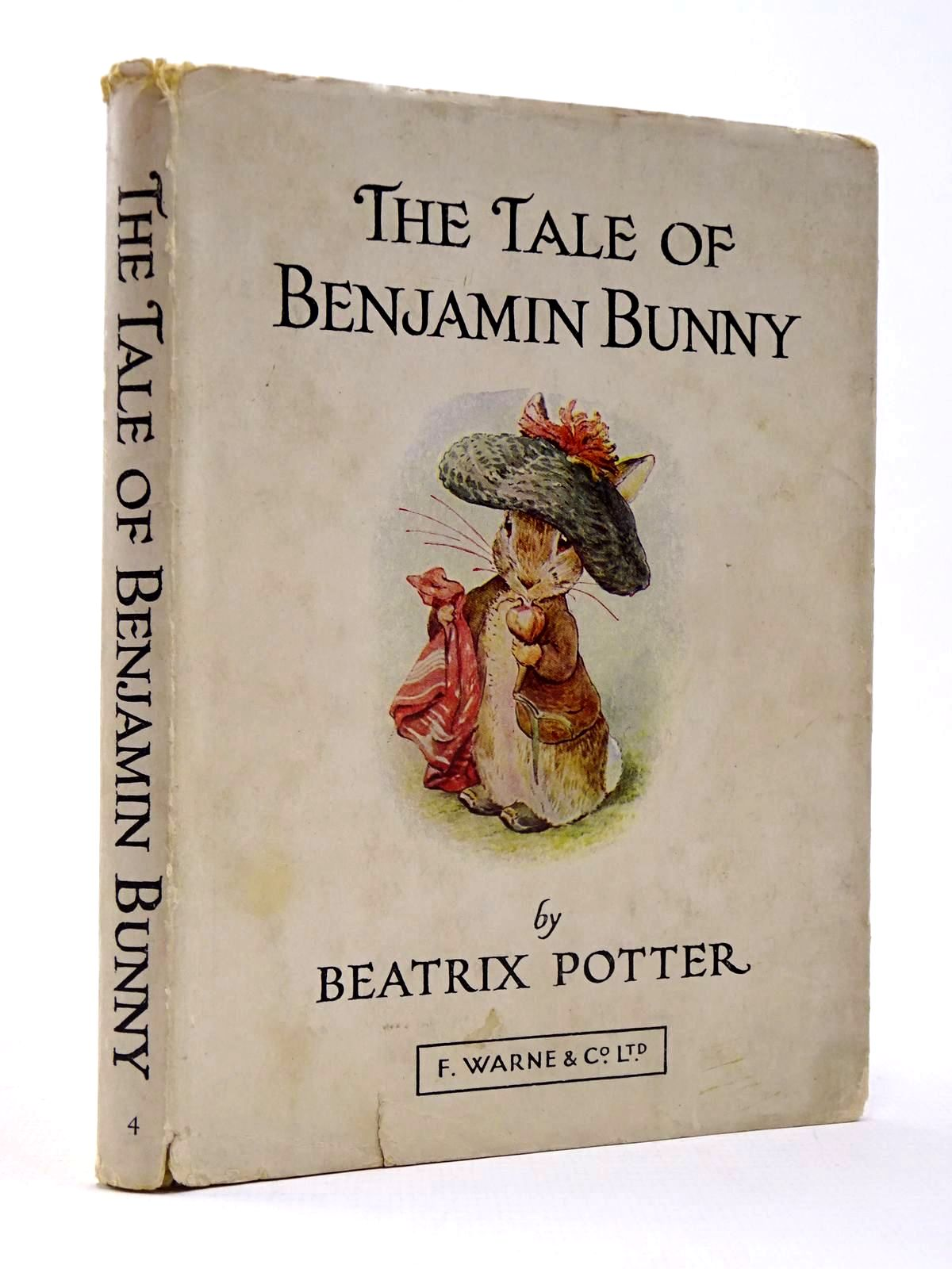 Photo of THE TALE OF BENJAMIN BUNNY written by Potter, Beatrix illustrated by Potter, Beatrix published by Frederick Warne & Co Ltd. (STOCK CODE: 2130406)  for sale by Stella & Rose's Books