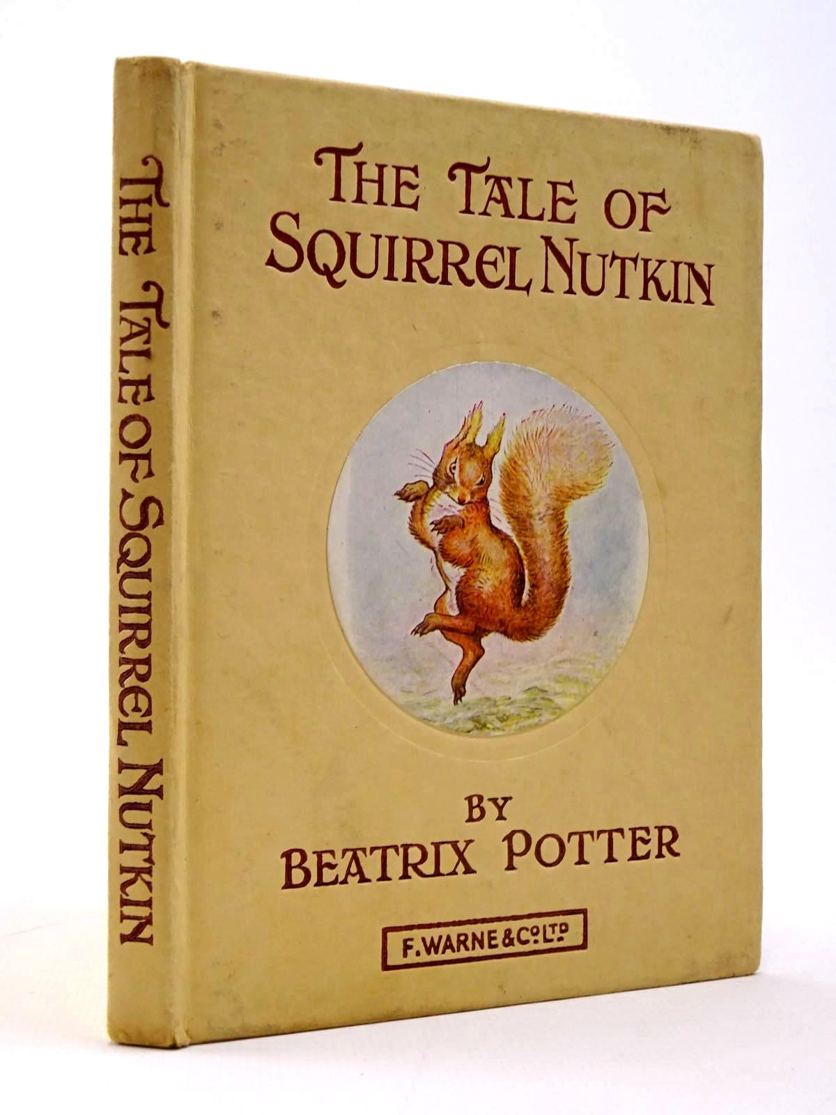 Photo of THE TALE OF SQUIRREL NUTKIN written by Potter, Beatrix illustrated by Potter, Beatrix published by Frederick Warne & Co Ltd. (STOCK CODE: 2130410)  for sale by Stella & Rose's Books