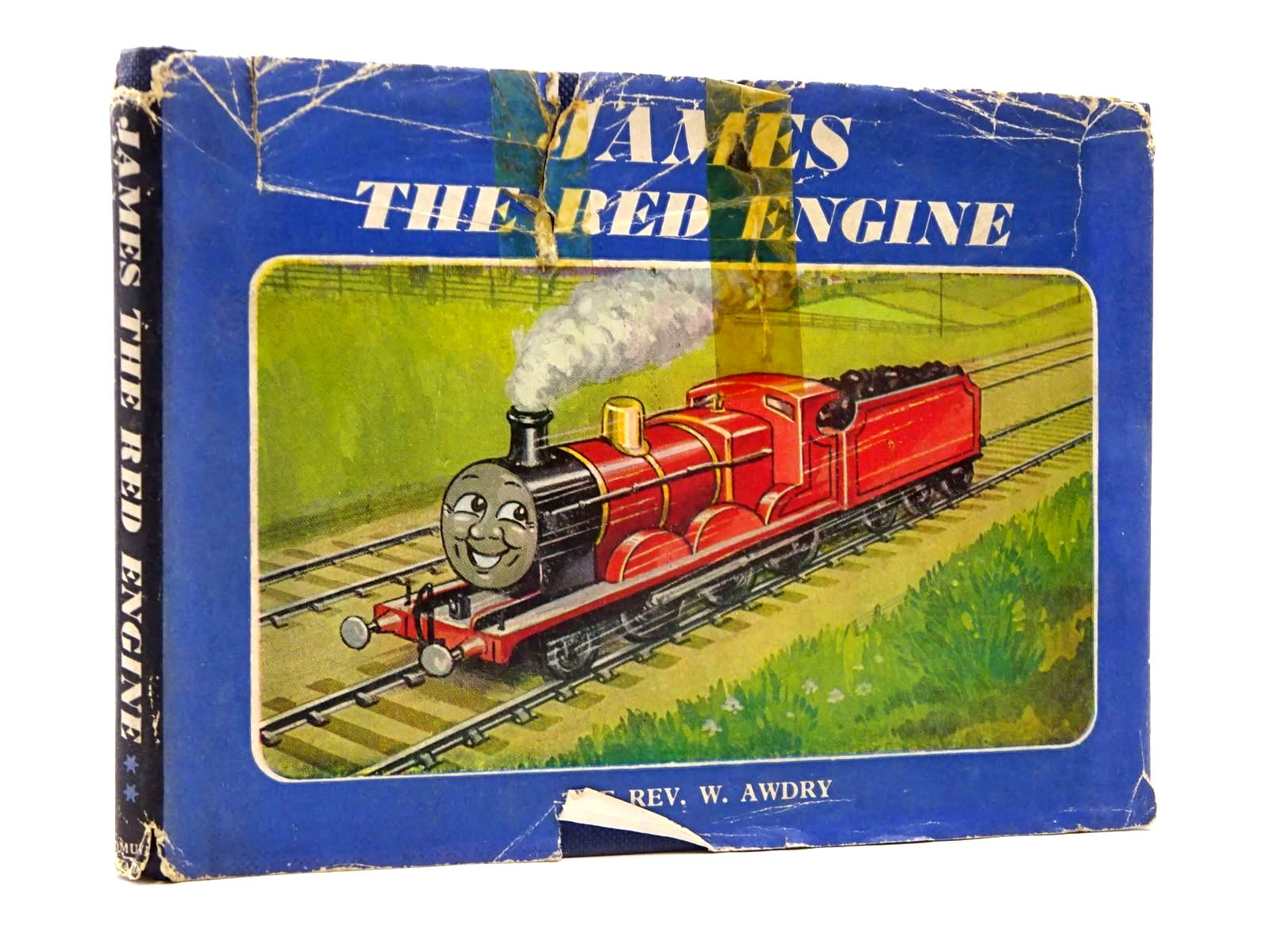 Photo of JAMES THE RED ENGINE written by Awdry, Rev. W. illustrated by Dalby, C. Reginald published by Edmund Ward (STOCK CODE: 2130424)  for sale by Stella & Rose's Books