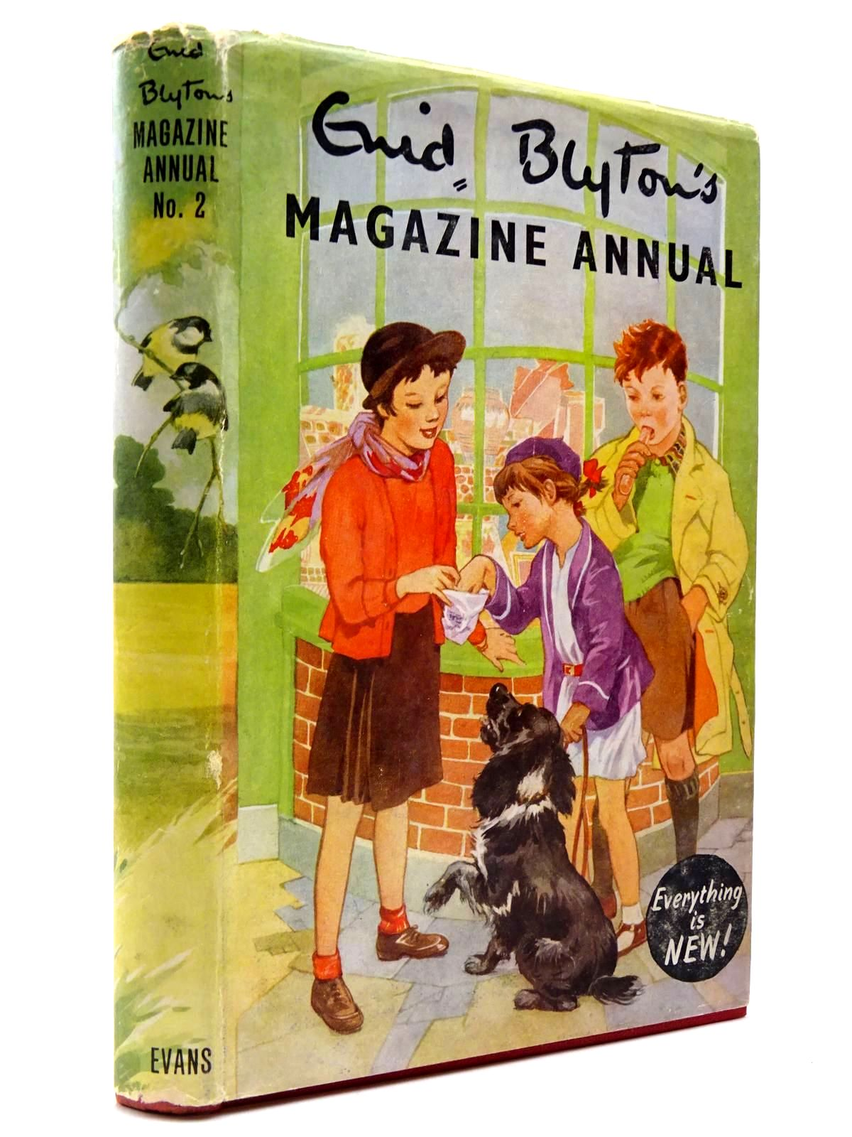 Photo of ENID BLYTON'S MAGAZINE ANNUAL NO. 2 written by Blyton, Enid published by Evans Brothers Limited (STOCK CODE: 2130438)  for sale by Stella & Rose's Books