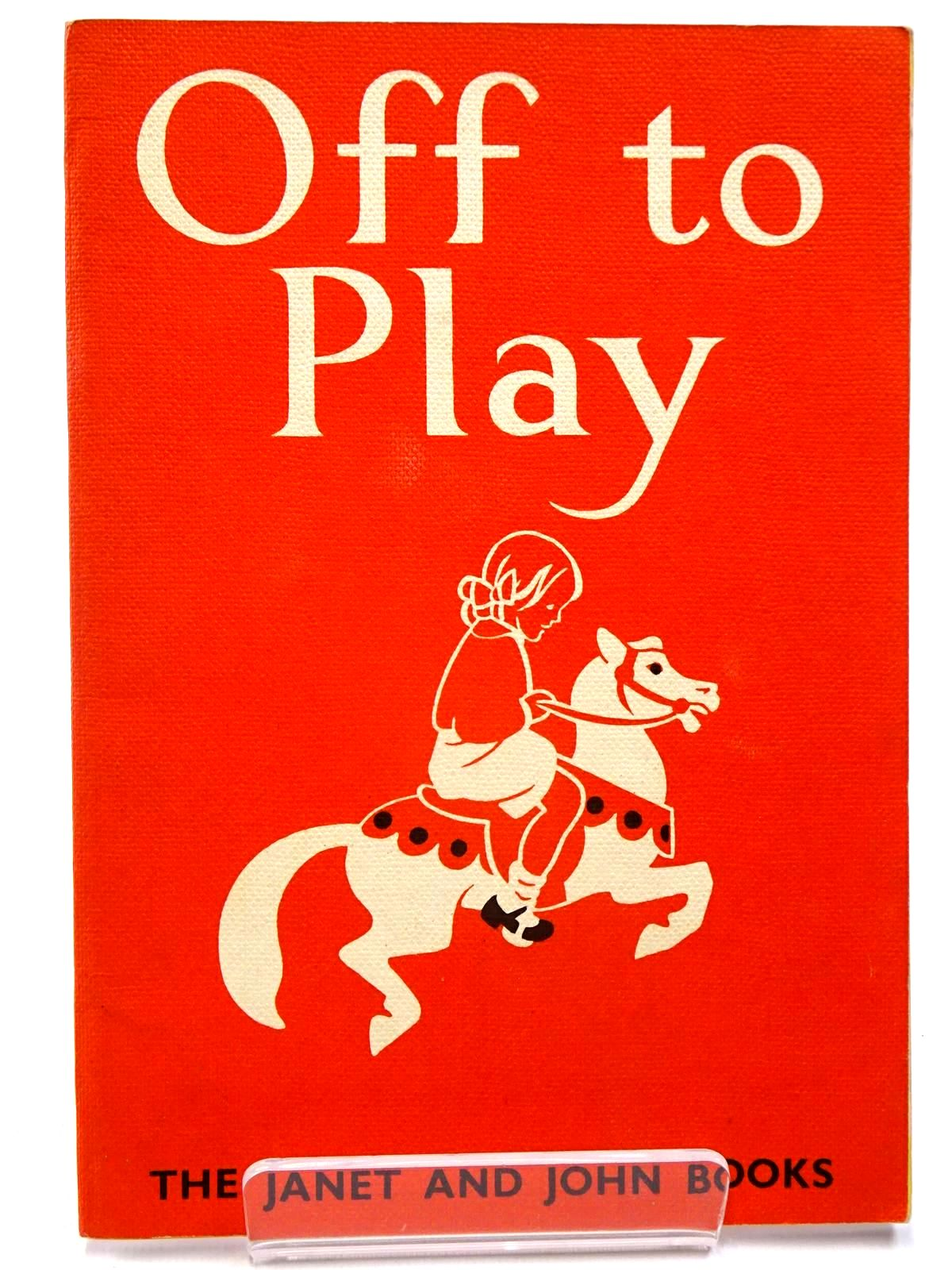 Photo of OFF TO PLAY written by O'Donnell, Mabel<br />Munro, Rona illustrated by Hoopes, Florence<br />Hoopes, Margaret published by James Nisbet & Co. Ltd. (STOCK CODE: 2130445)  for sale by Stella & Rose's Books