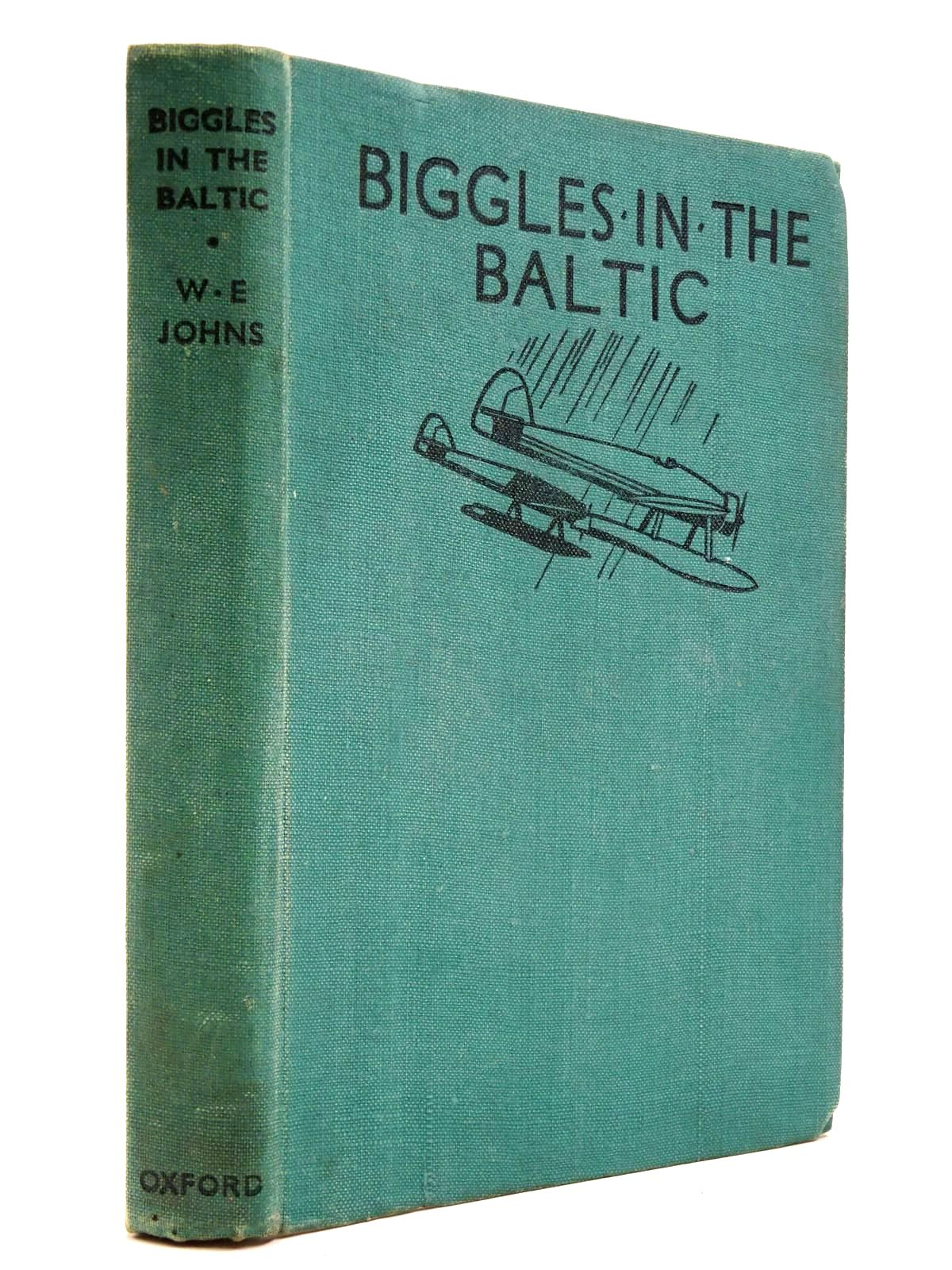 Photo of BIGGLES IN THE BALTIC written by Johns, W.E. illustrated by Sindall, Alfred<br />Leigh, Howard published by Geoffrey Cumberlege, Oxford University Press (STOCK CODE: 2130498)  for sale by Stella & Rose's Books