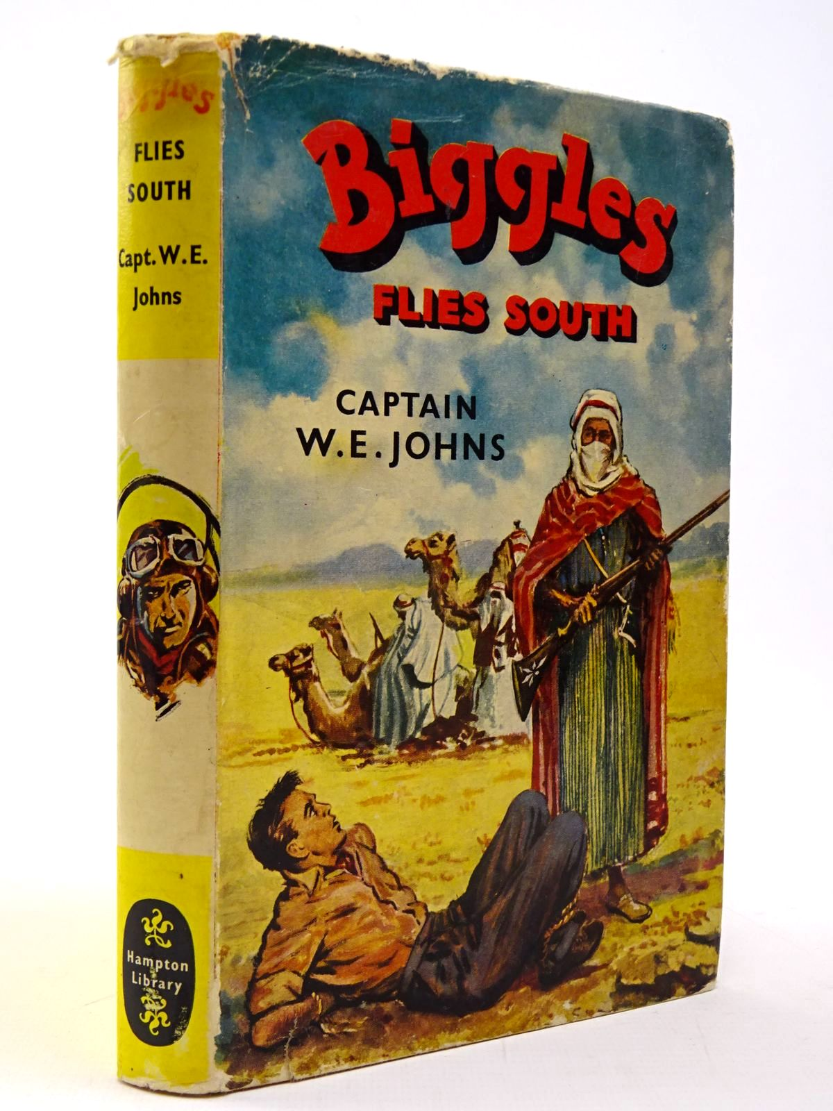 Photo of BIGGLES FLIES SOUTH written by Johns, W.E. published by Brockhampton Press (STOCK CODE: 2130539)  for sale by Stella & Rose's Books