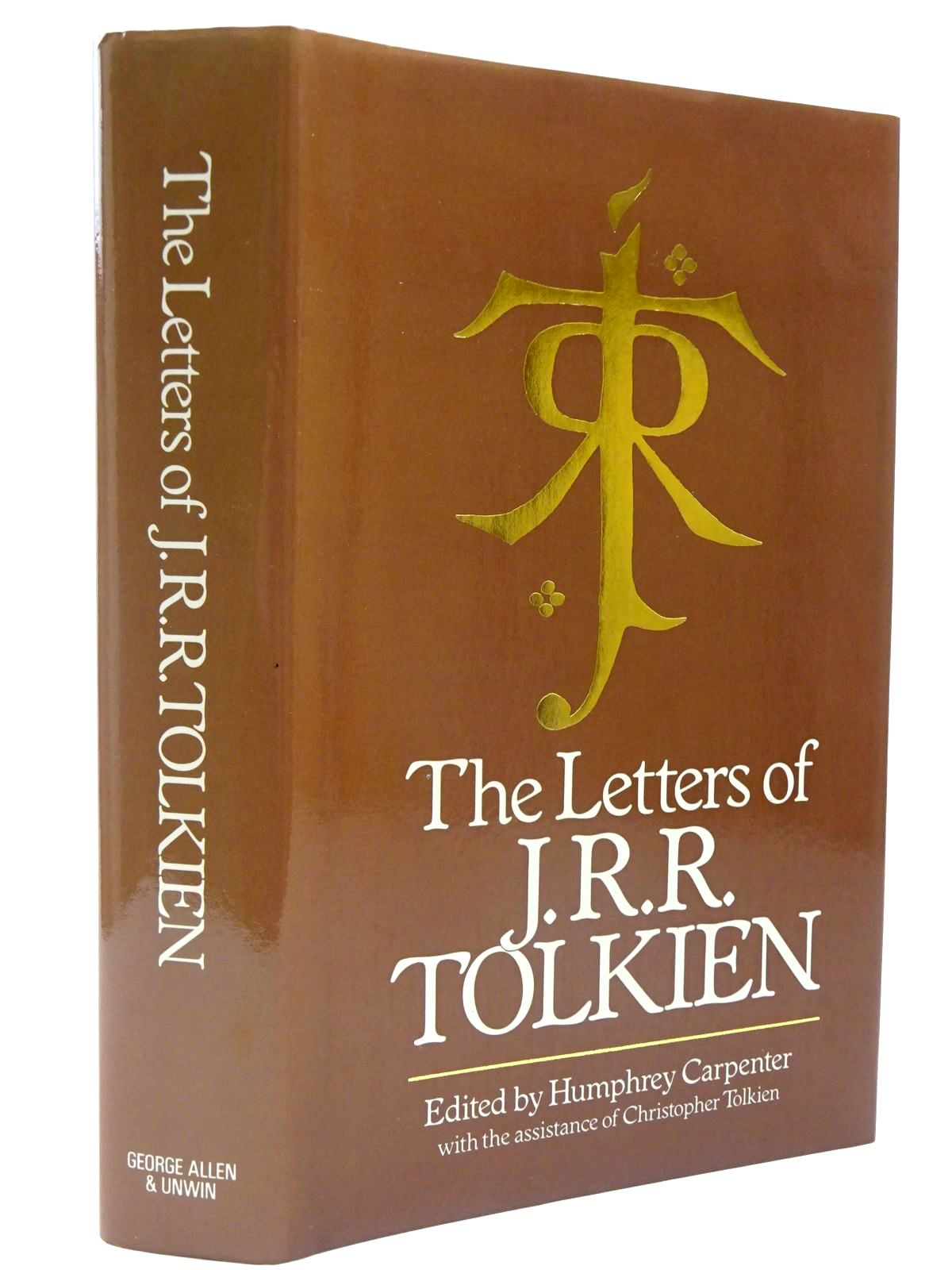 Photo of THE LETTERS OF J.R.R. TOLKIEN written by Tolkien, J.R.R.<br />Tolkien, Christopher<br />Carpenter, Humphrey published by George Allen & Unwin (STOCK CODE: 2130550)  for sale by Stella & Rose's Books