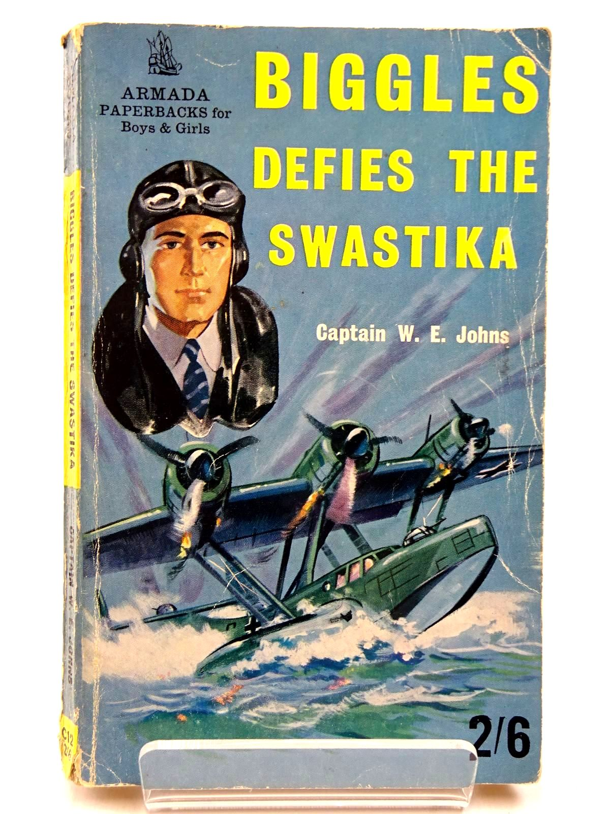 Photo of BIGGLES DEFIES THE SWASTIKA written by Johns, W.E. published by Armada (STOCK CODE: 2130553)  for sale by Stella & Rose's Books