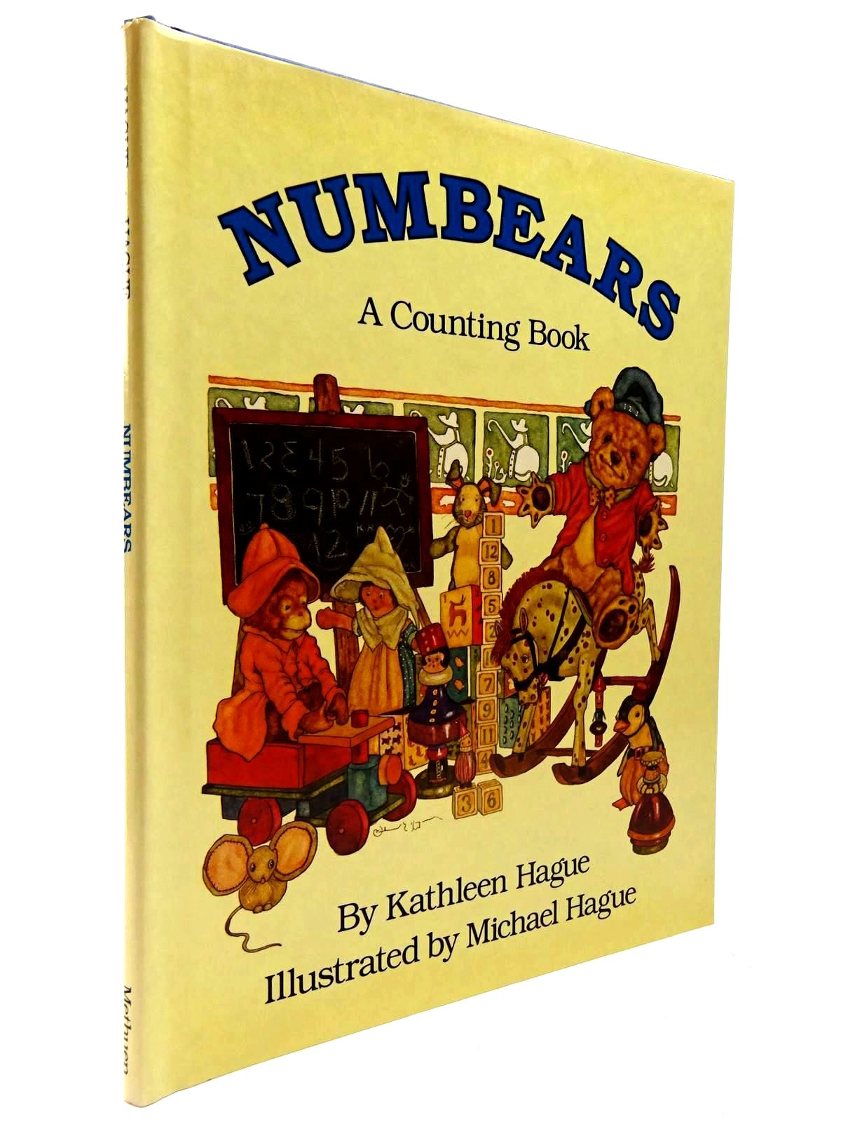 Photo of NUMBEARS - A COUNTING BOOK written by Hague, Kathleen illustrated by Hague, Michael published by Methuen Children's Books (STOCK CODE: 2130600)  for sale by Stella & Rose's Books