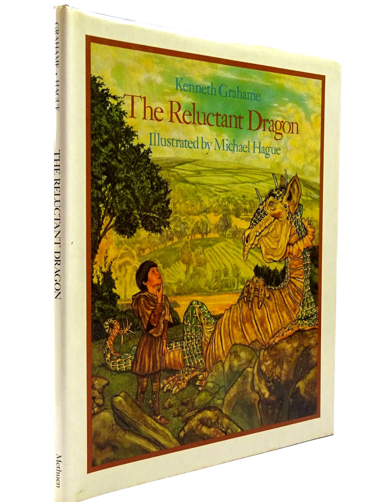 Photo of THE RELUCTANT DRAGON written by Grahame, Kenneth illustrated by Hague, Michael published by Methuen Children's Books (STOCK CODE: 2130631)  for sale by Stella & Rose's Books