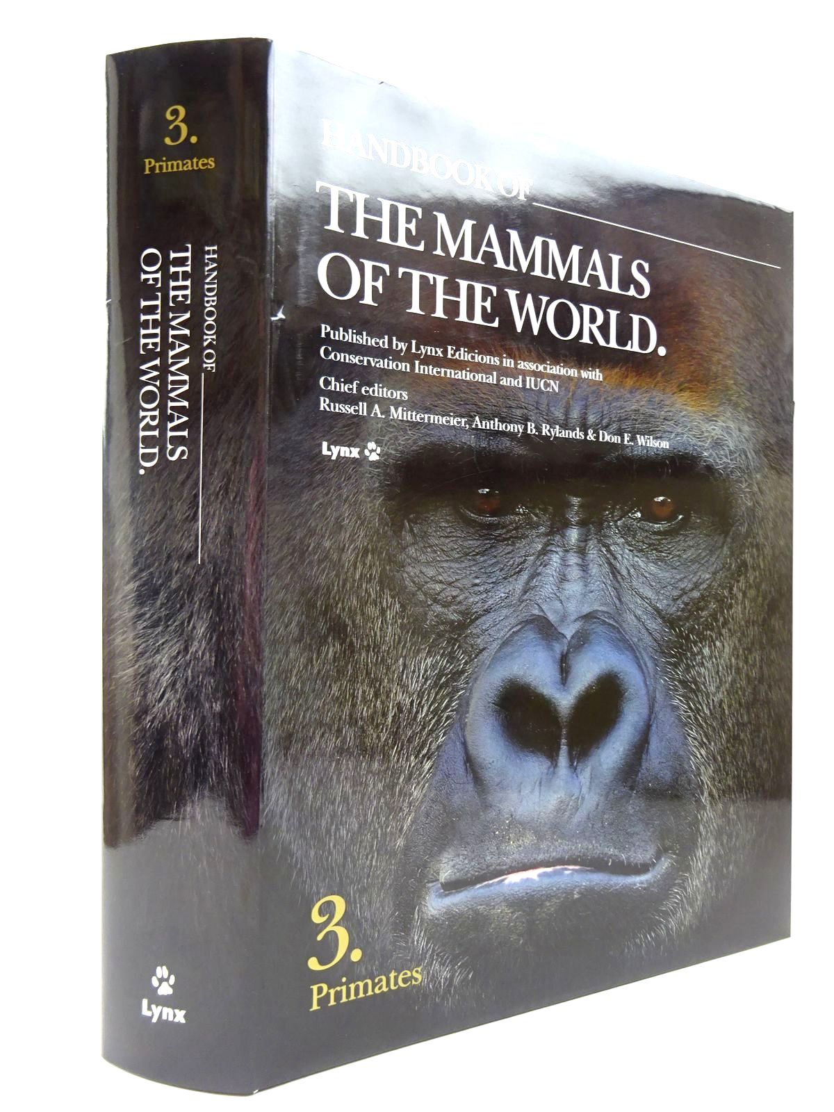 Photo of HANDBOOK OF THE MAMMALS OF THE WORLD 3. PRIMATES written by Wilson, Don E.<br />Mittermeier, Russell A.<br />Bennett, Elizabeth<br />et al, published by Lynx Edicions (STOCK CODE: 2130638)  for sale by Stella & Rose's Books