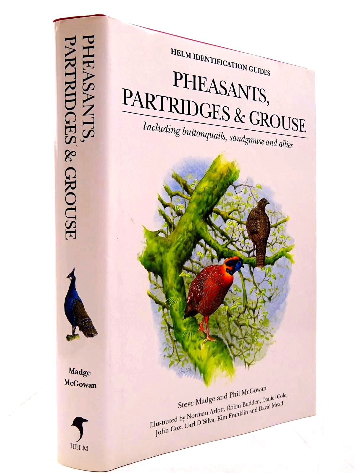 Photo of PHEASANTS, PARTRIDGES AND GROUSE (HELM IDENTIFICATION GUIDES) written by Madge, Steve<br />Mcgowan, Phil illustrated by Arlott, Norman<br />et al.,  published by Christopher Helm (STOCK CODE: 2130639)  for sale by Stella & Rose's Books