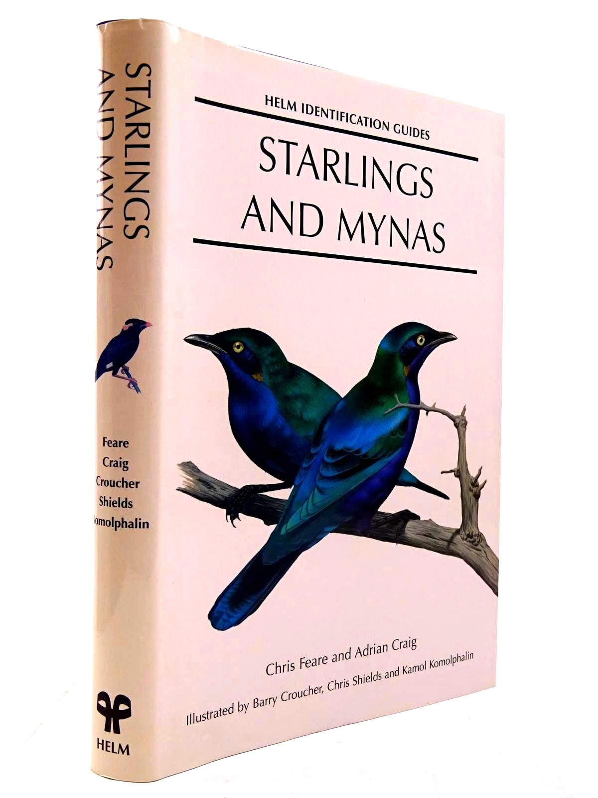 Photo of STARLINGS AND MYNAS written by Feare, Christopher J.<br />Craig, Adrian illustrated by Croucher, Barry<br />et al.,  published by Christopher Helm (STOCK CODE: 2130640)  for sale by Stella & Rose's Books