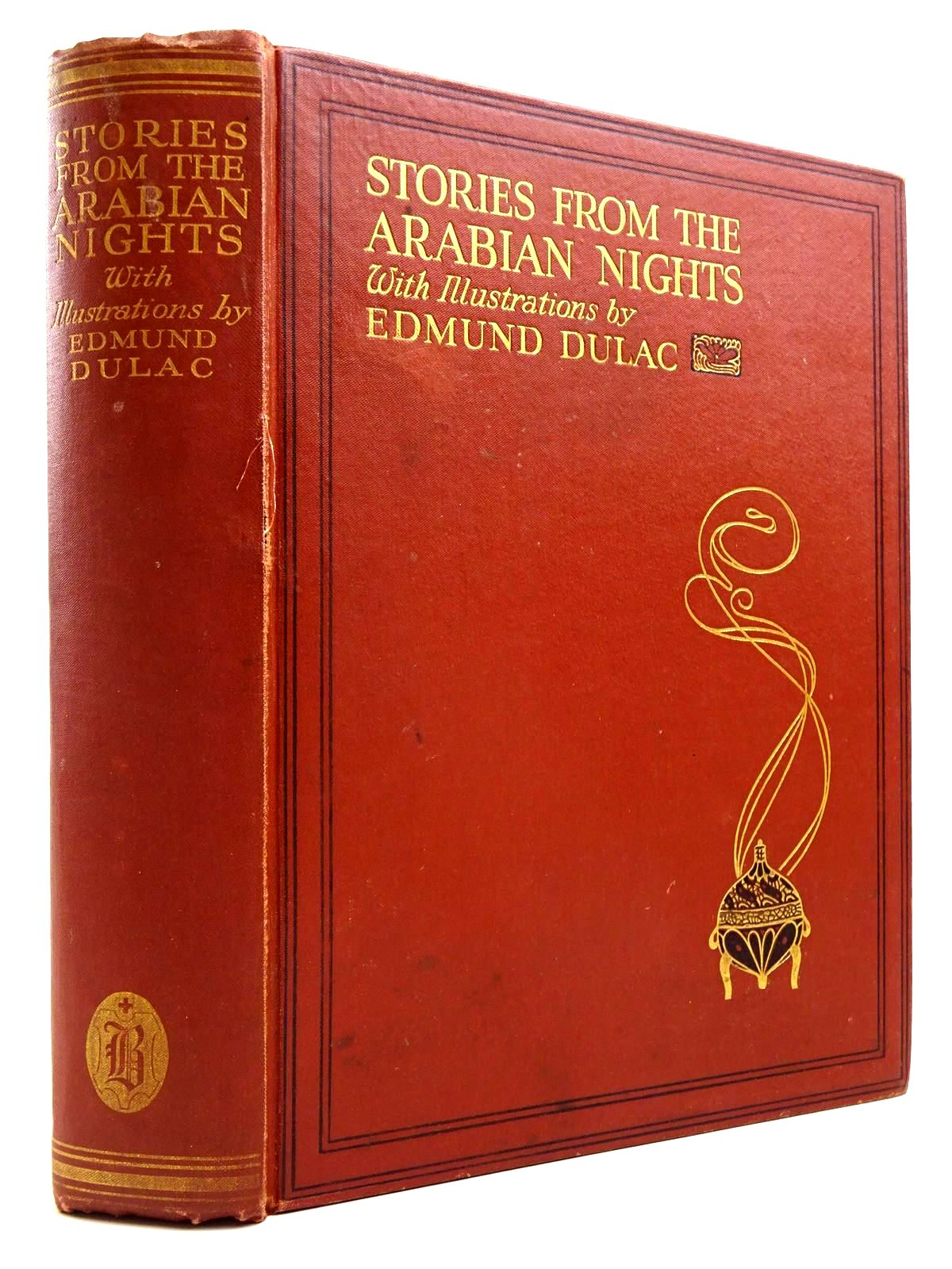 Photo of STORIES FROM THE ARABIAN NIGHTS written by Housman, Laurence illustrated by Dulac, Edmund published by Hodder & Stoughton, Boots the Chemists (STOCK CODE: 2130651)  for sale by Stella & Rose's Books