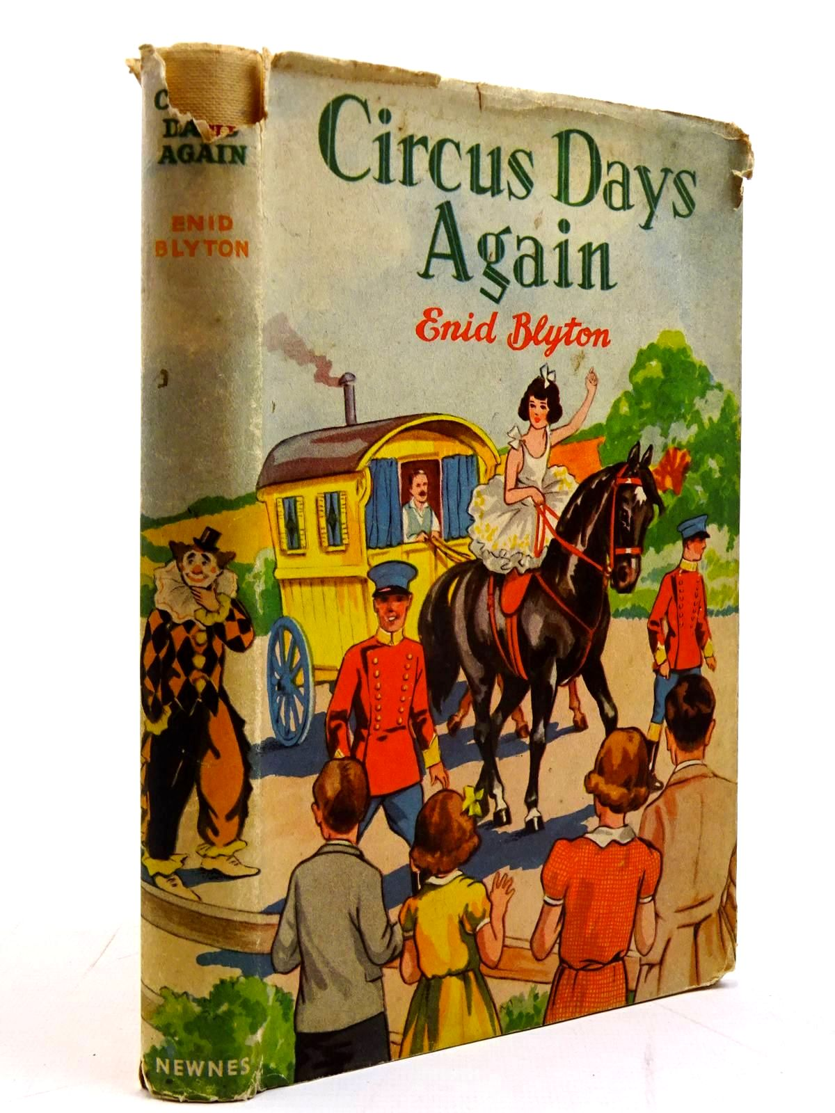 Photo of CIRCUS DAYS AGAIN written by Blyton, Enid illustrated by Davie, E.H. published by George Newnes Ltd. (STOCK CODE: 2130674)  for sale by Stella & Rose's Books