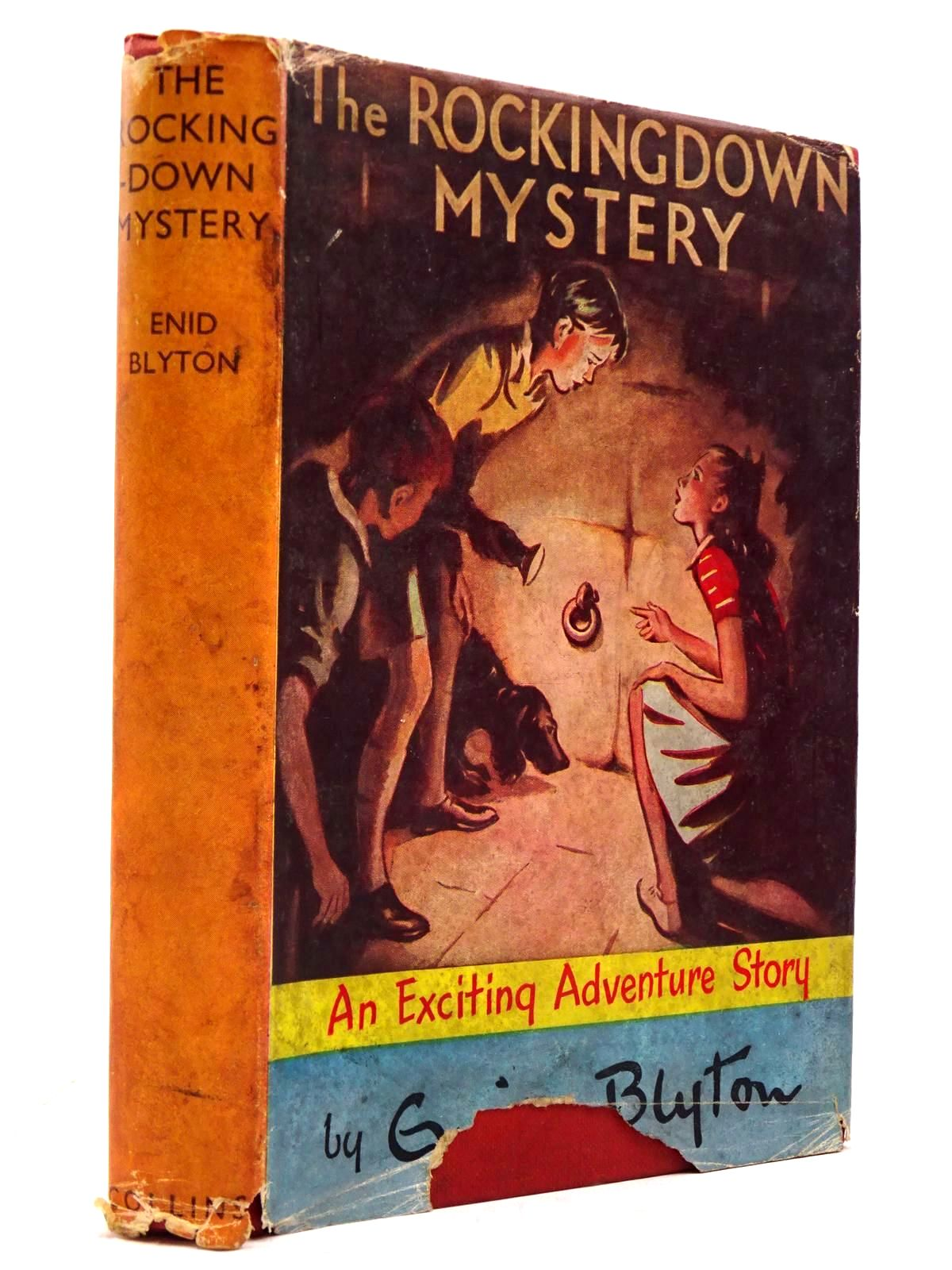 Photo of THE ROCKINGDOWN MYSTERY written by Blyton, Enid illustrated by Dunlop, Gilbert published by Collins (STOCK CODE: 2130678)  for sale by Stella & Rose's Books