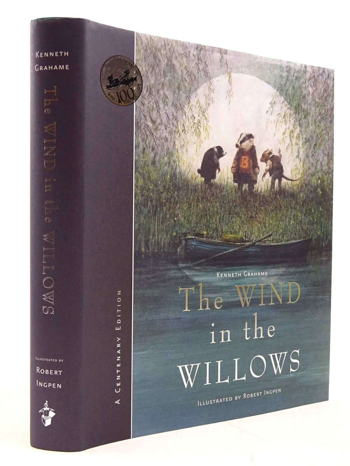 Photo of THE WIND IN THE WILLOWS written by Grahame, Kenneth illustrated by Ingpen, Robert published by Templar Publishing (STOCK CODE: 2130694)  for sale by Stella & Rose's Books