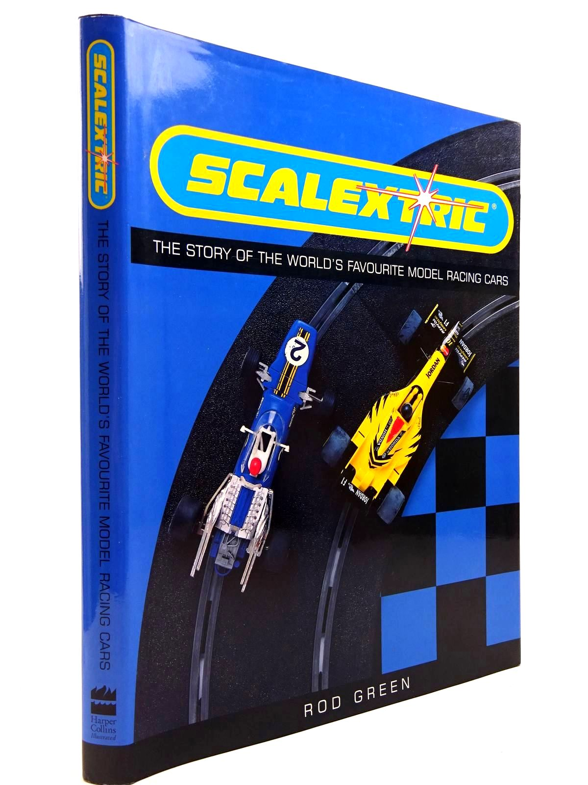 Photo of SCALEXTRIC THE STORY OF THE WORLD'S FAVOURITE MODEL RACING CARS written by Green, Rod published by Harper Collins (STOCK CODE: 2130725)  for sale by Stella & Rose's Books