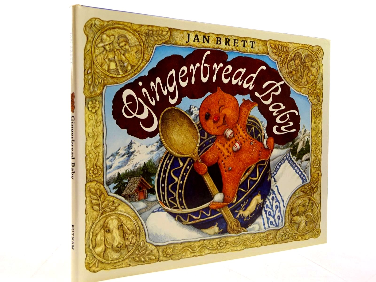 Photo of GINGERBREAD BABY written by Brett, Jan illustrated by Brett, Jan published by G.P. Putnam's Sons (STOCK CODE: 2130735)  for sale by Stella & Rose's Books