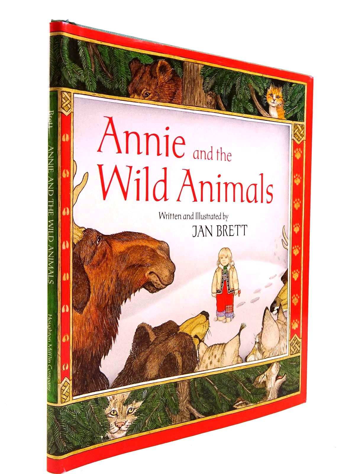 Photo of ANNIE AND THE WILD ANIMALS written by Brett, Jan illustrated by Brett, Jan published by Houghton Mifflin Company (STOCK CODE: 2130740)  for sale by Stella & Rose's Books