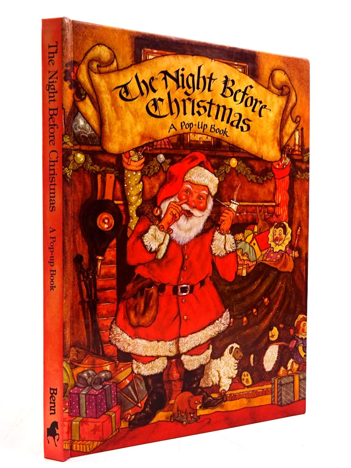 Photo of THE NIGHT BEFORE CHRISTMAS A POP-UP BOOK written by Moore, Clement Clarke illustrated by Hague, Michael published by Ernest Benn (STOCK CODE: 2130741)  for sale by Stella & Rose's Books