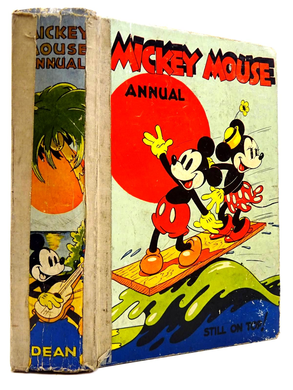 Photo of MICKEY MOUSE ANNUAL 1938 FOR 1939 published by Dean & Son Ltd. (STOCK CODE: 2130742)  for sale by Stella & Rose's Books