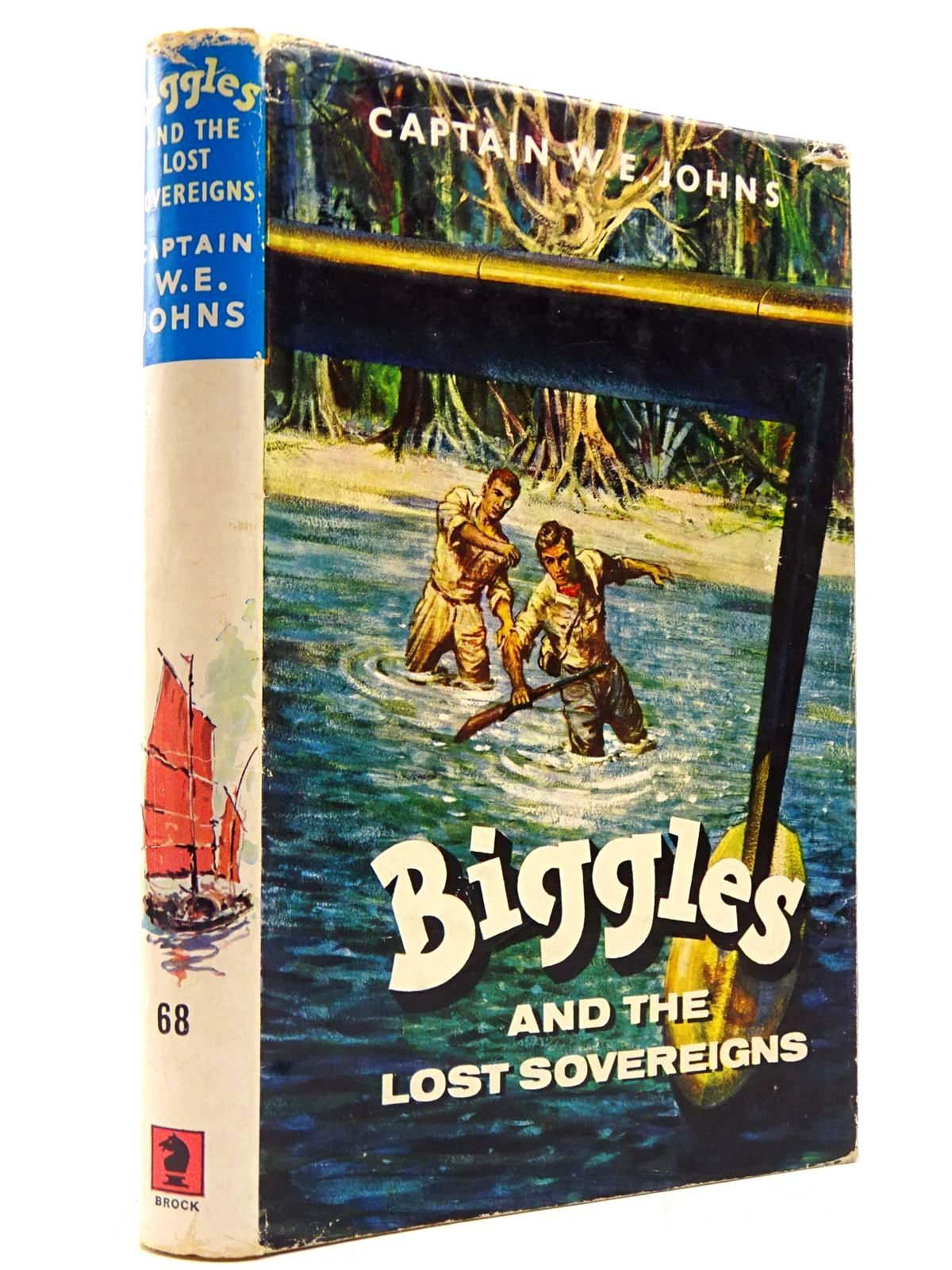 Photo of BIGGLES AND THE LOST SOVEREIGNS written by Johns, W.E. illustrated by Stead, Leslie published by Brockhampton Press (STOCK CODE: 2130757)  for sale by Stella & Rose's Books